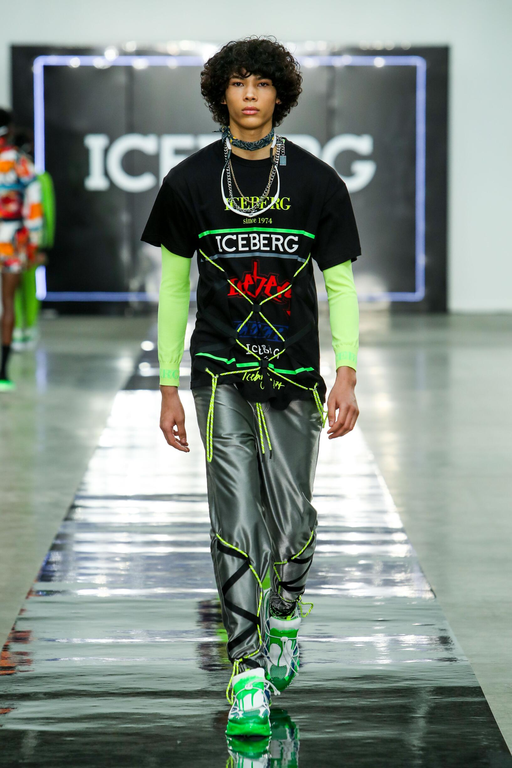 Fashion 2020 Catwalk Iceberg Summer