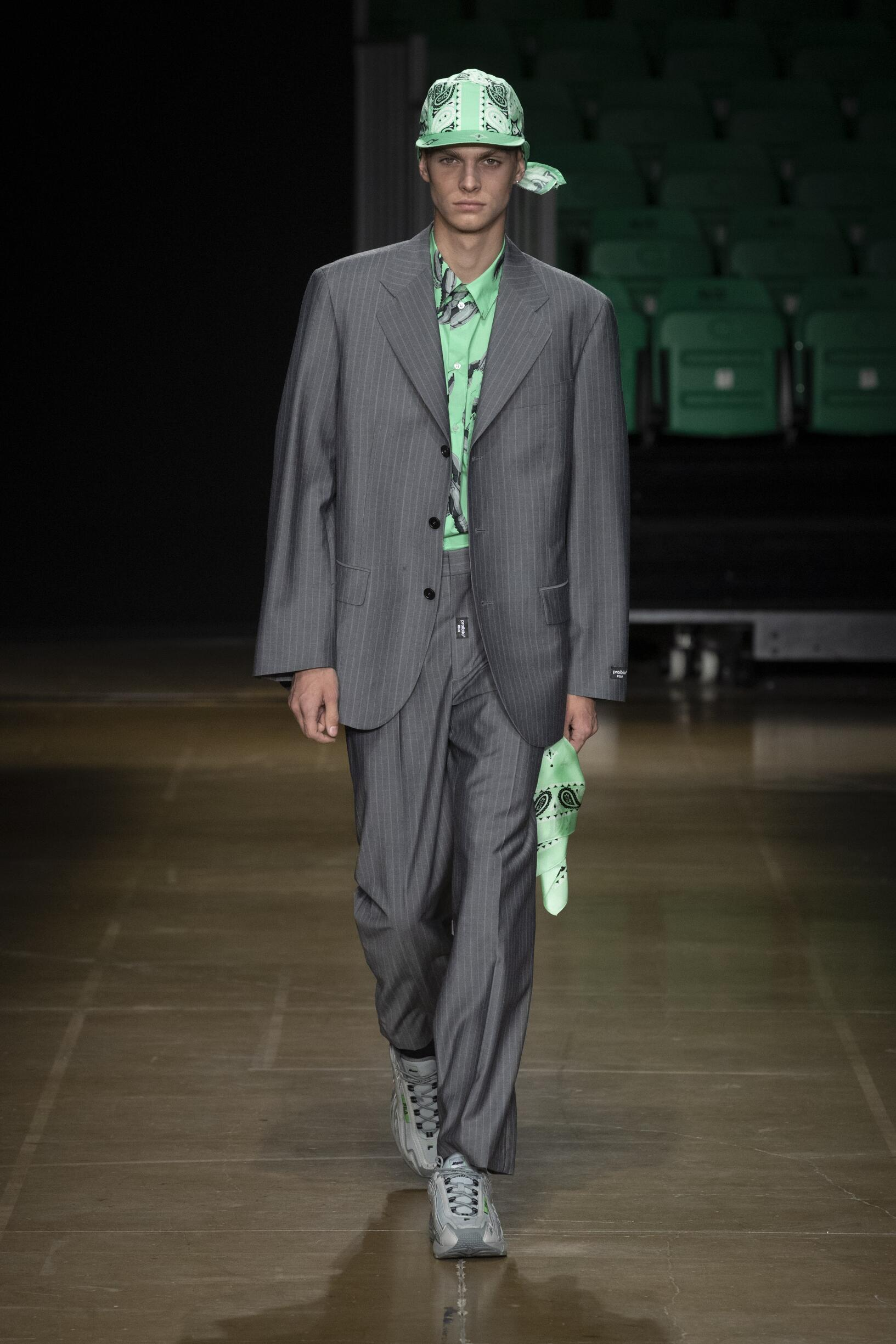 Fashion 2020 Catwalk MSGM Summer Man Collection