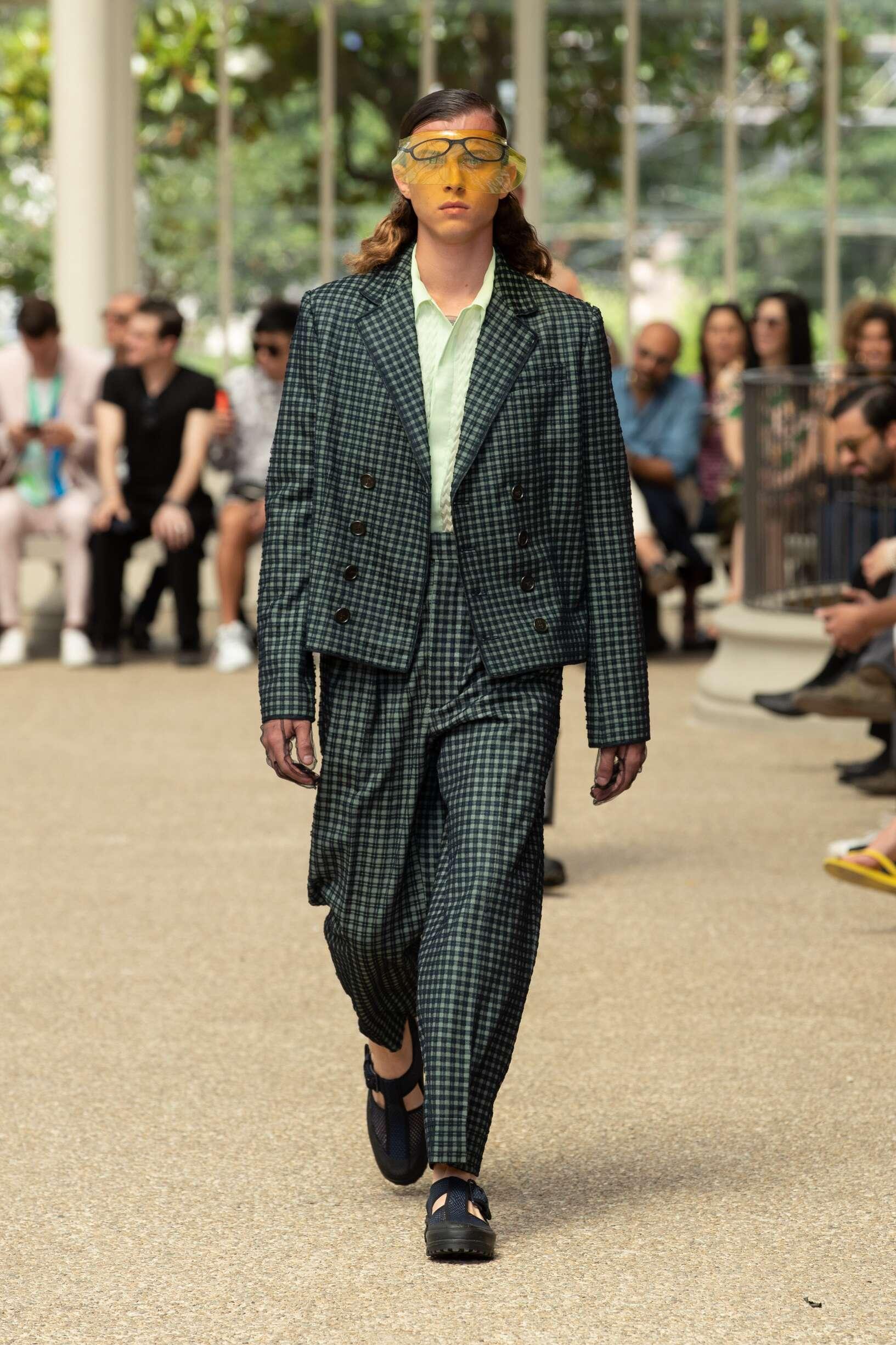 Fashion 2020 Catwalk Marco De vincenzo Summer Man Collection