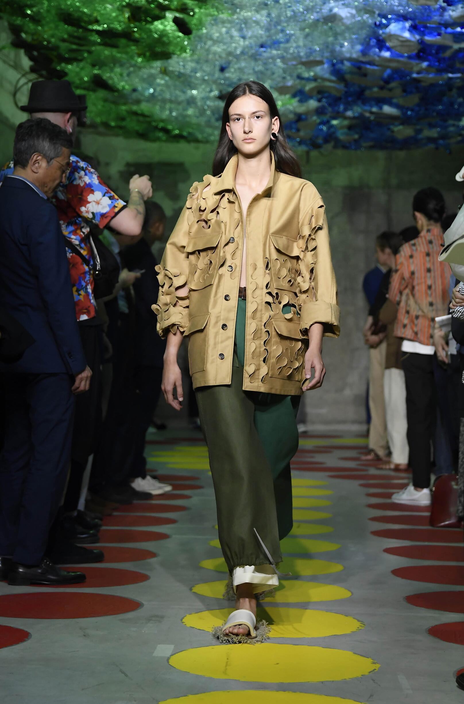 Fashion 2020 Catwalk Marni Summer Woman Collection