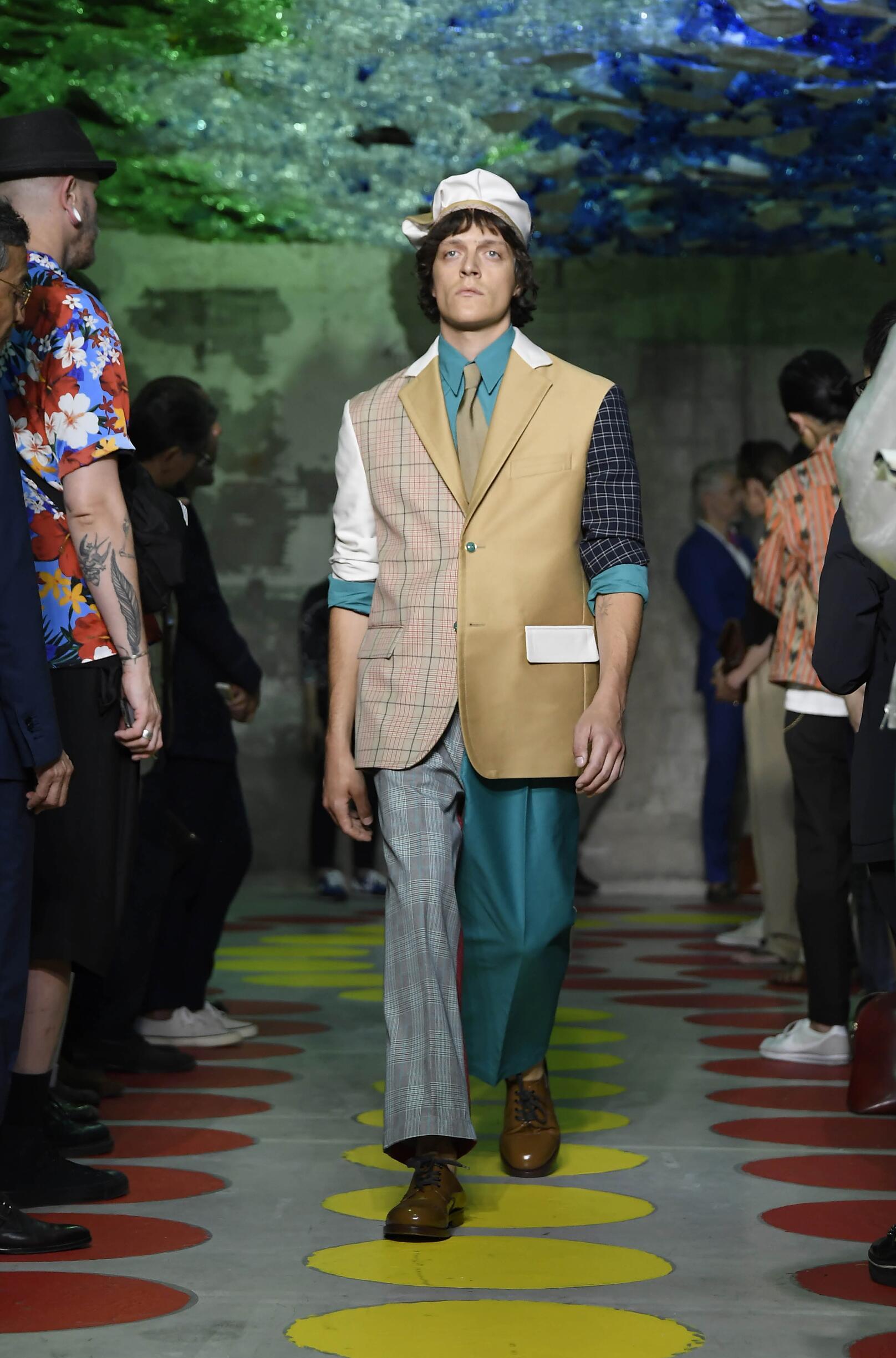 Fashion 2020 Catwalk Marni