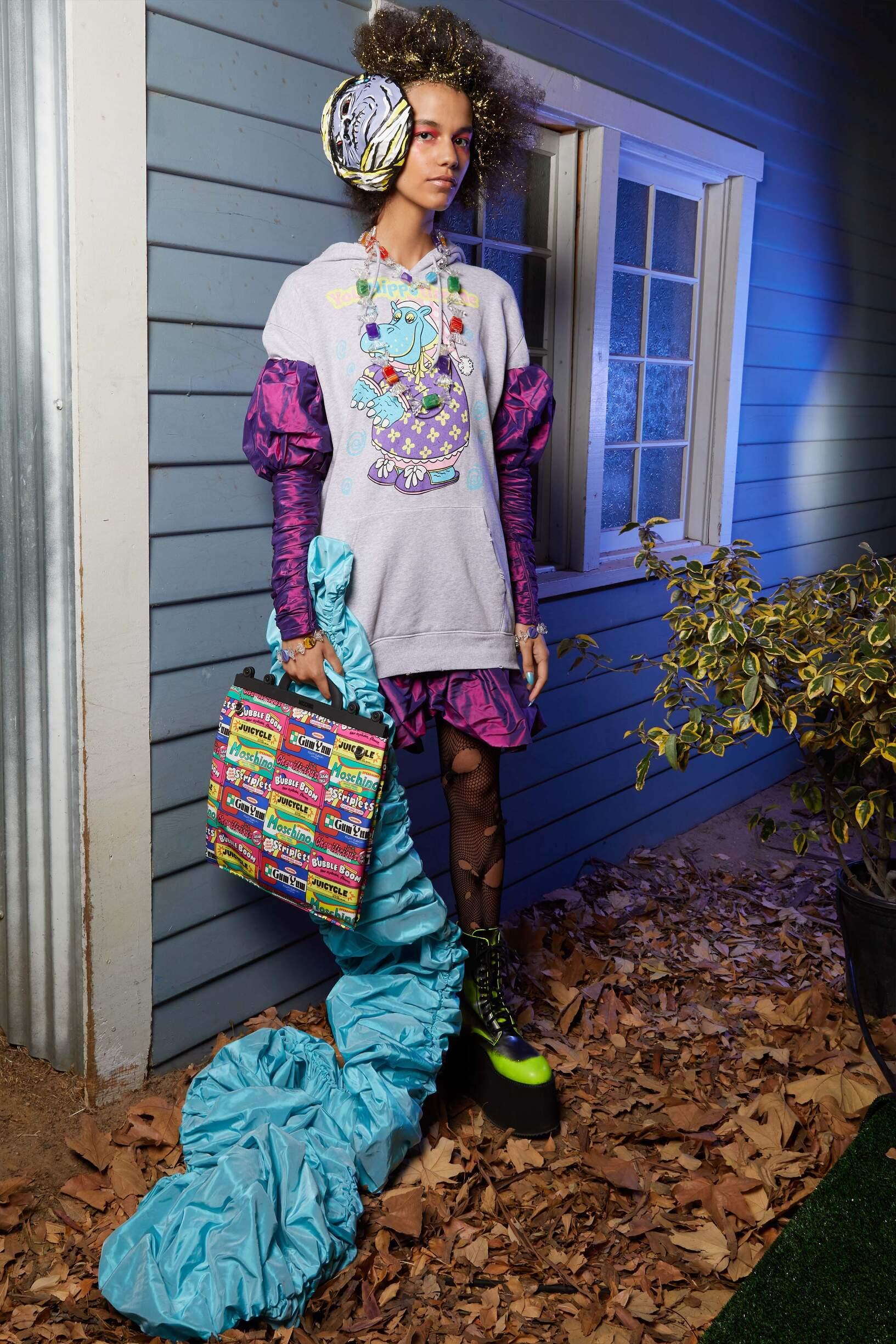 Fashion 2020 Catwalk Moschino