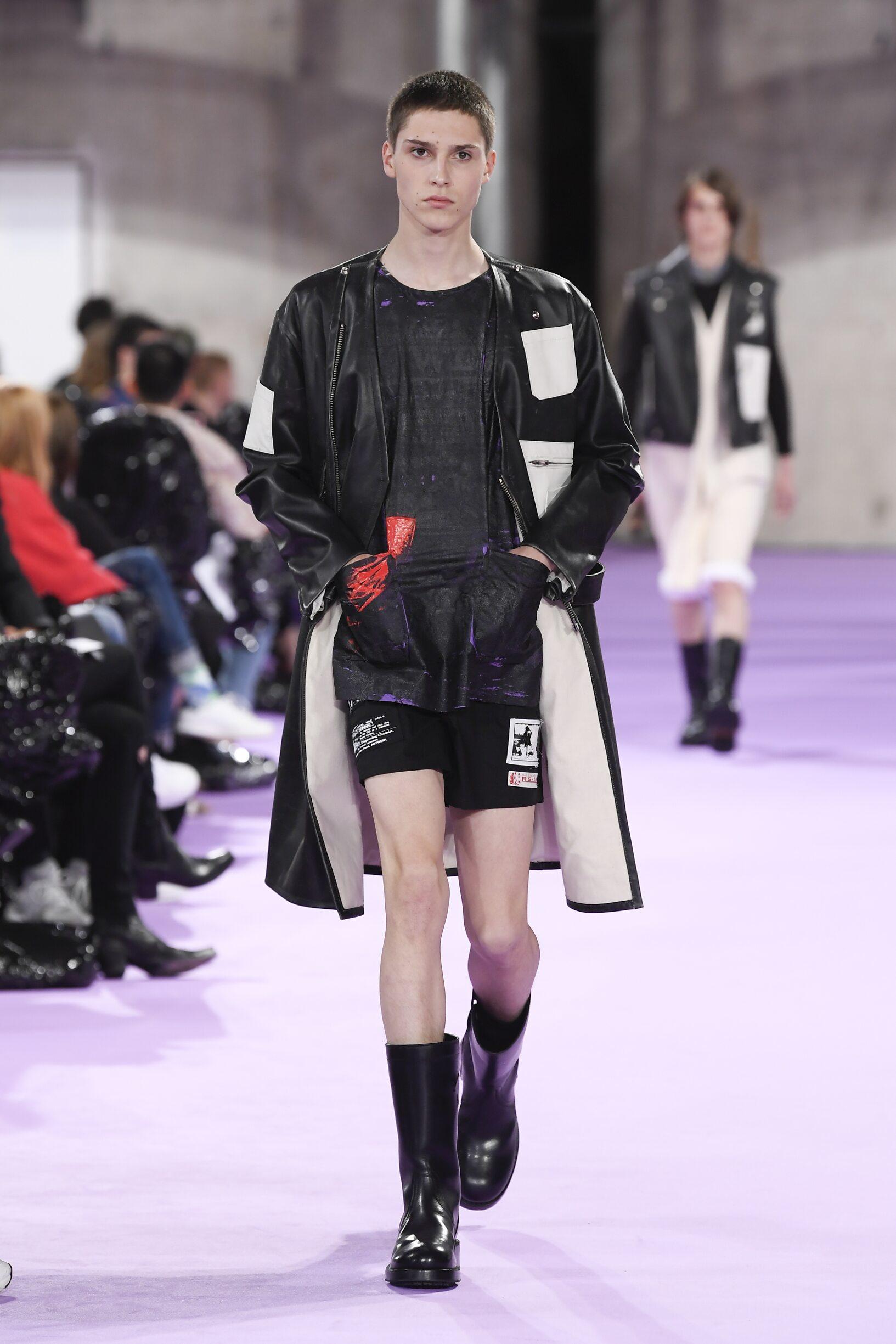 Fashion 2020 Catwalk Raf Simons Summer