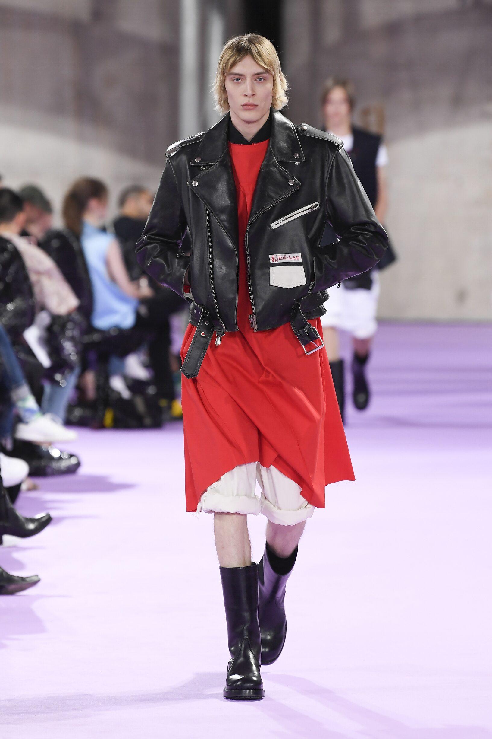 Fashion 2020 Catwalk Raf Simons