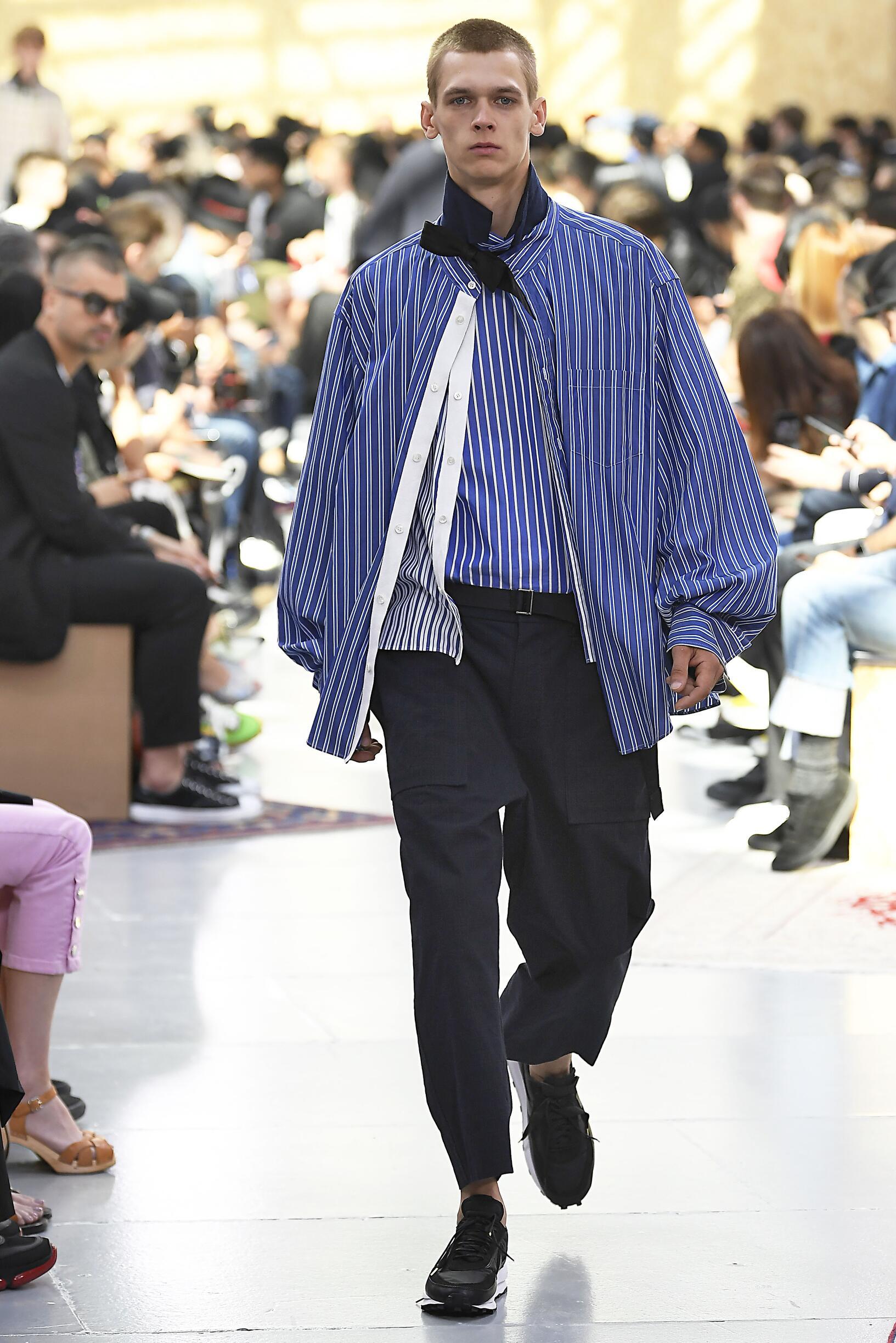 Fashion 2020 Catwalk Sacai Summer