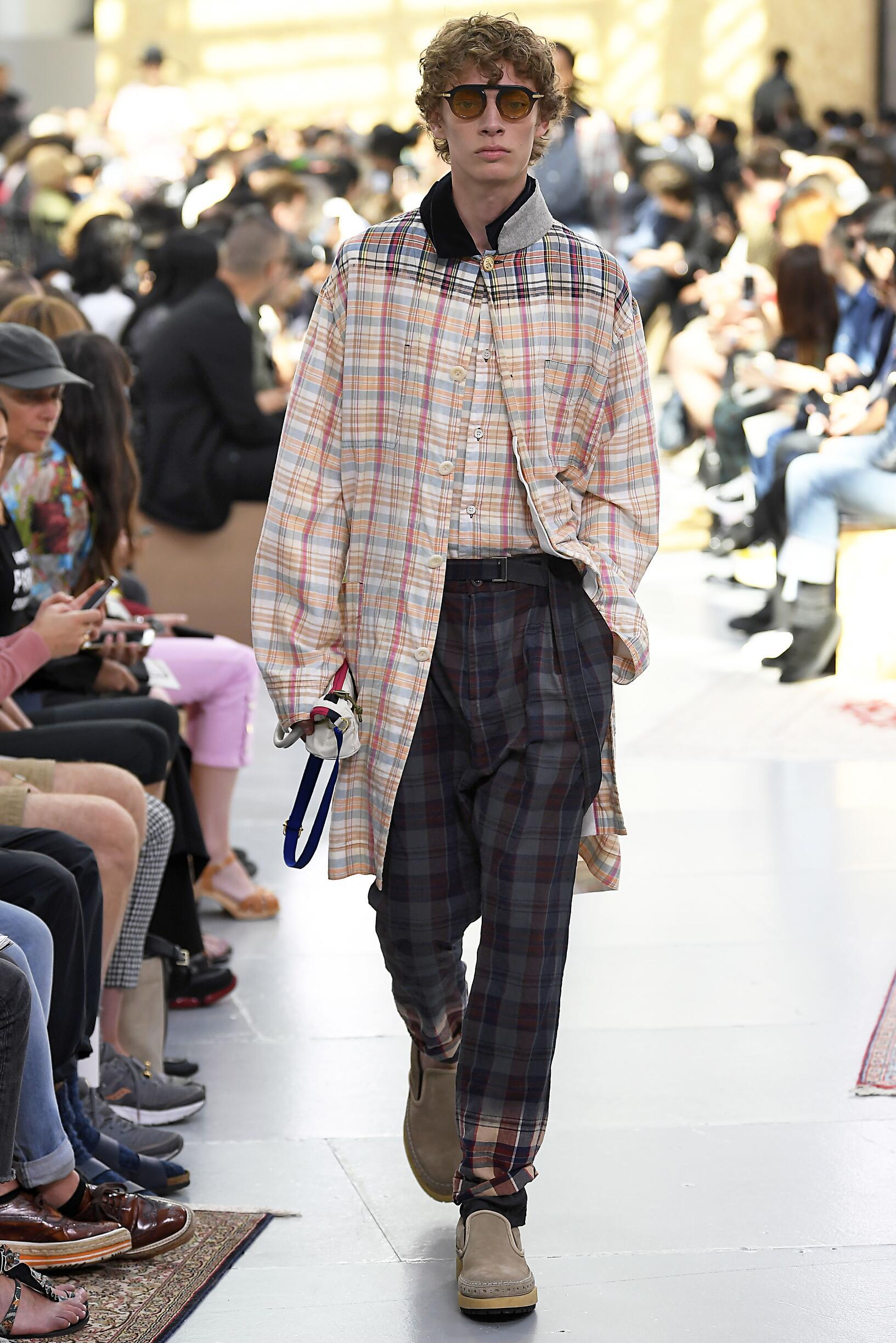 Fashion 2020 Catwalk Sacai
