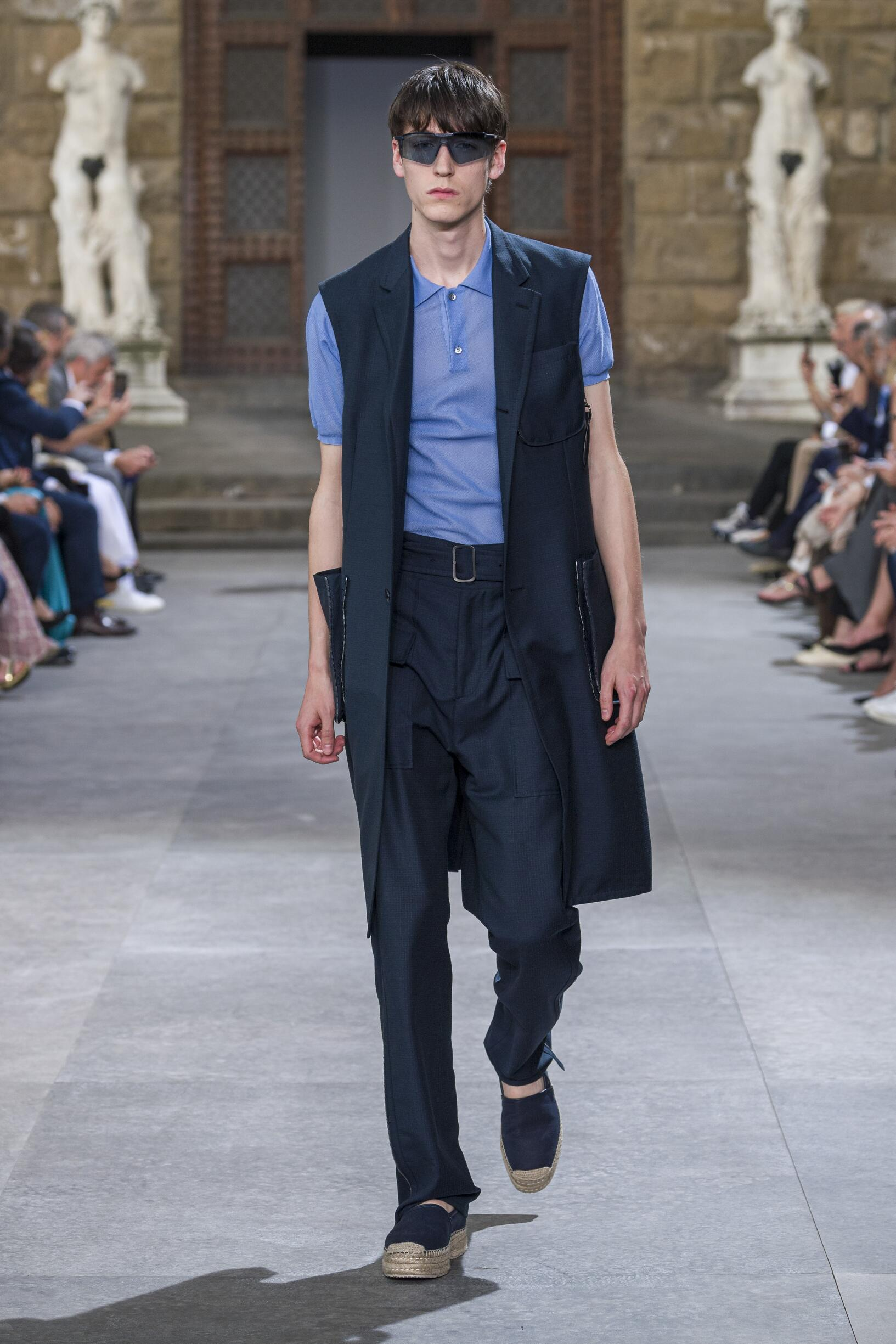 Fashion 2020 Catwalk Salvatore Ferragamo Summer Man Collection