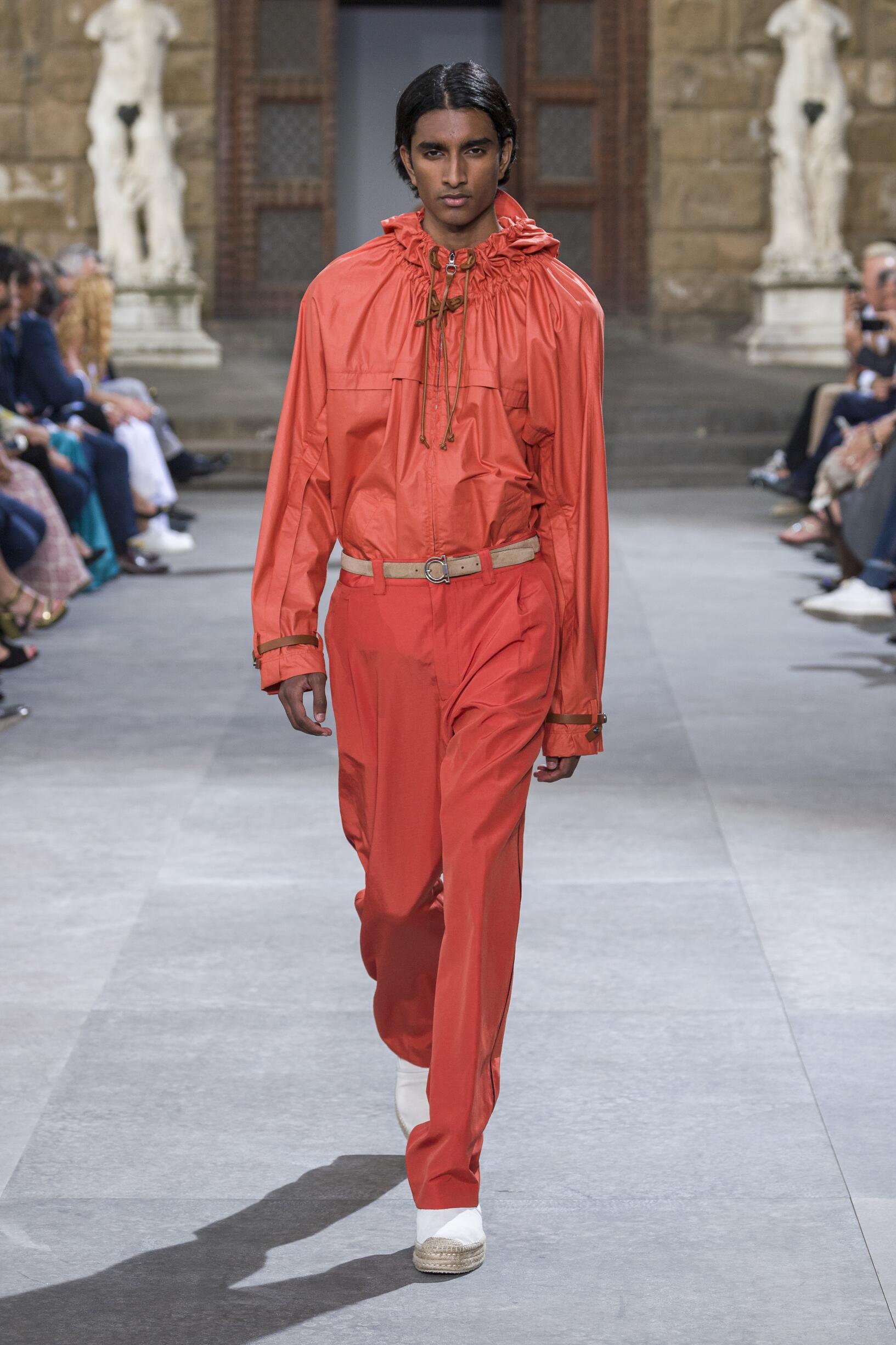 Fashion 2020 Catwalk Salvatore Ferragamo Summer