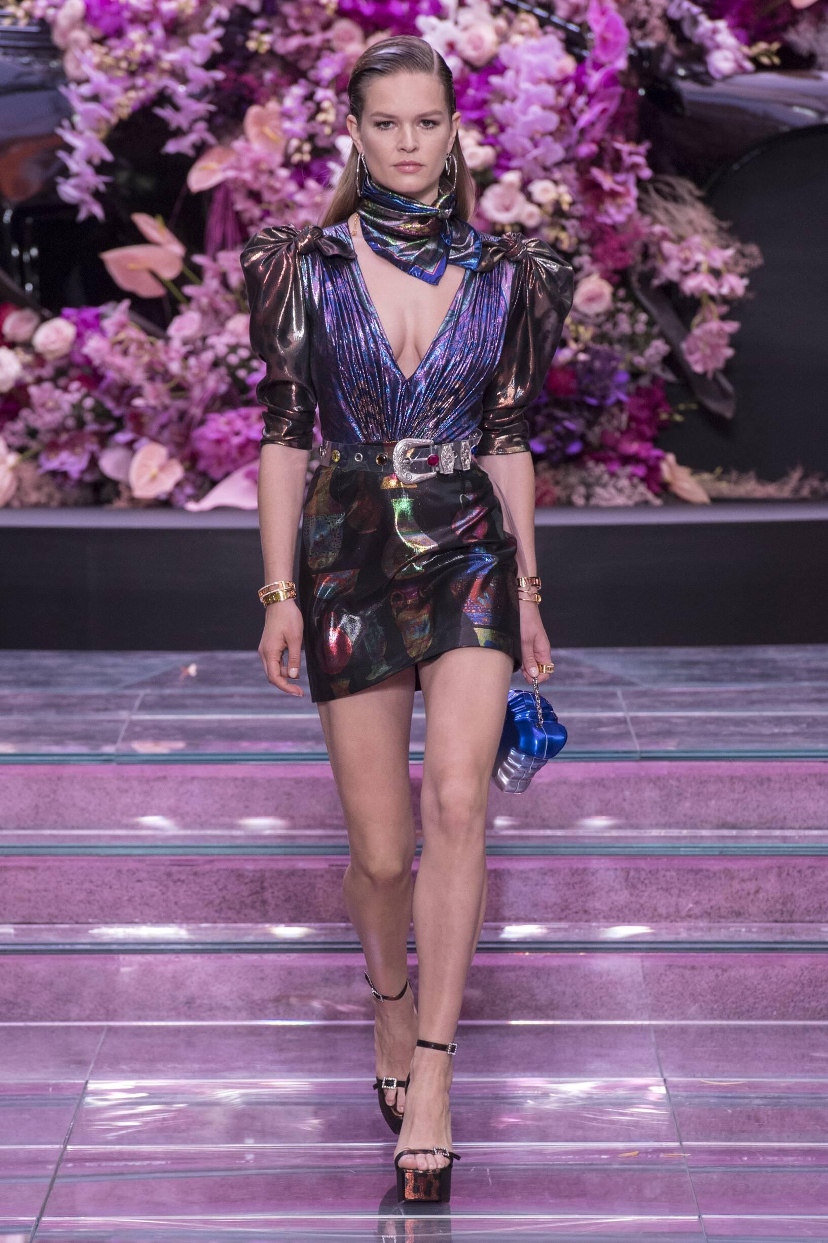 Fashion 2020 Catwalk Versace Summer