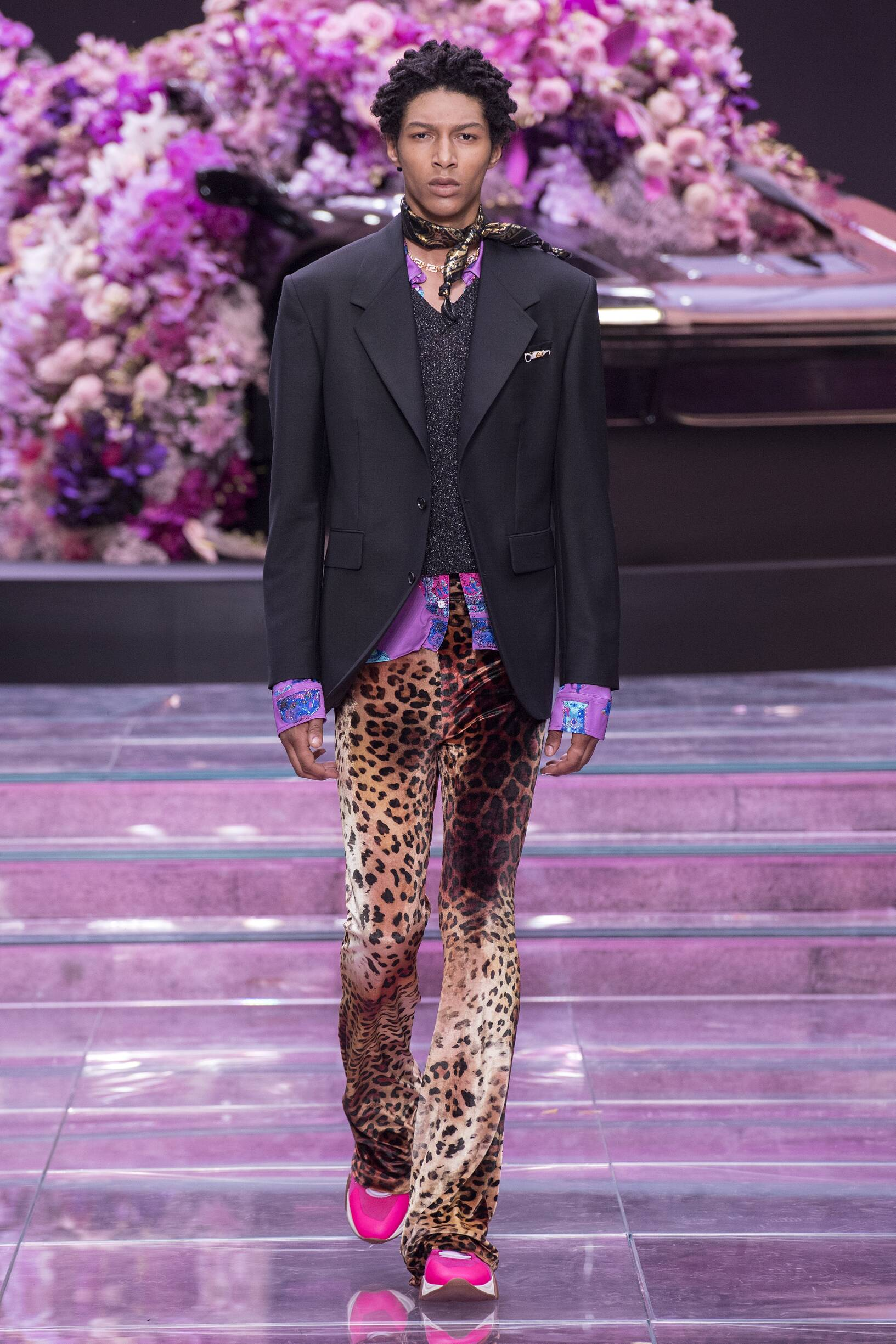 VERSACE SPRING SUMMER 2020 MEN'S COLLECTION | The Skinny Beep