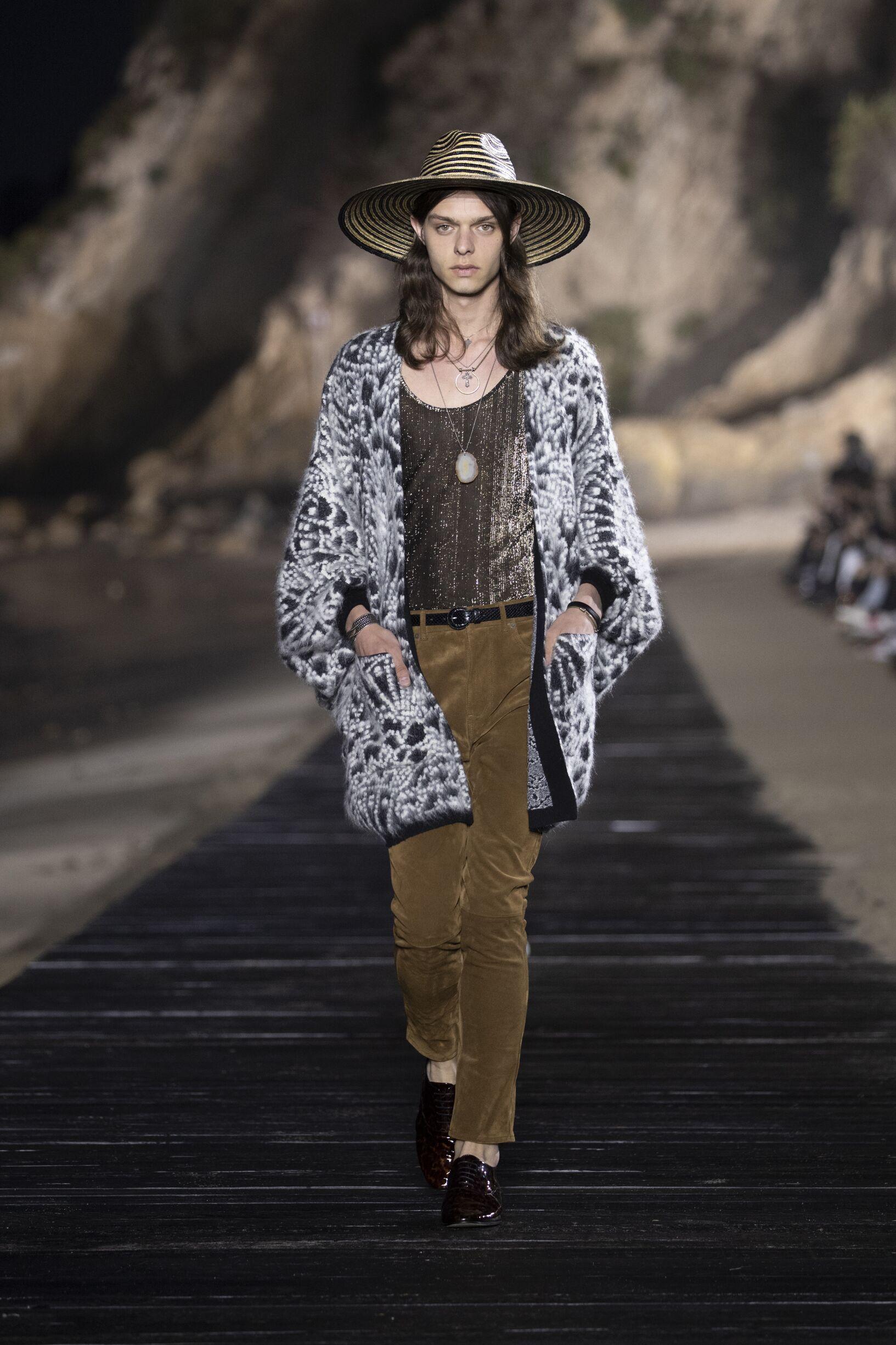 Fashion 2020 Man Style Saint Laurent