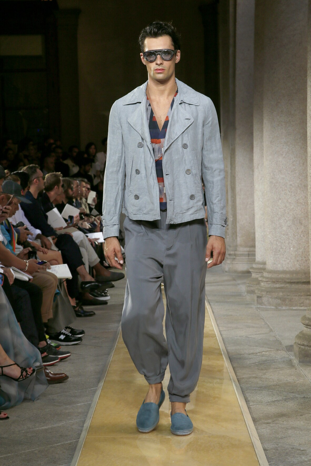 Fashion 2020 Runway Giorgio Armani SS