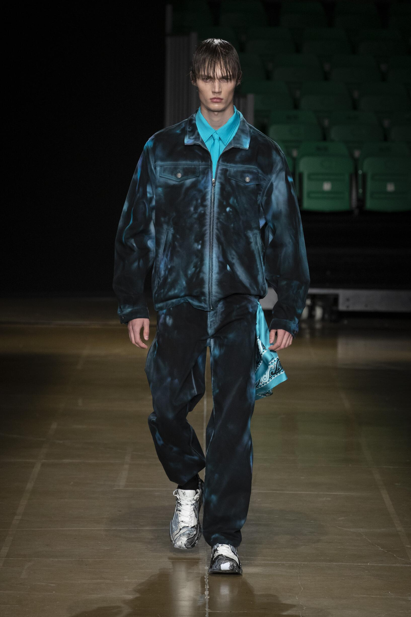Fashion 2020 Runway Man MSGM Summer