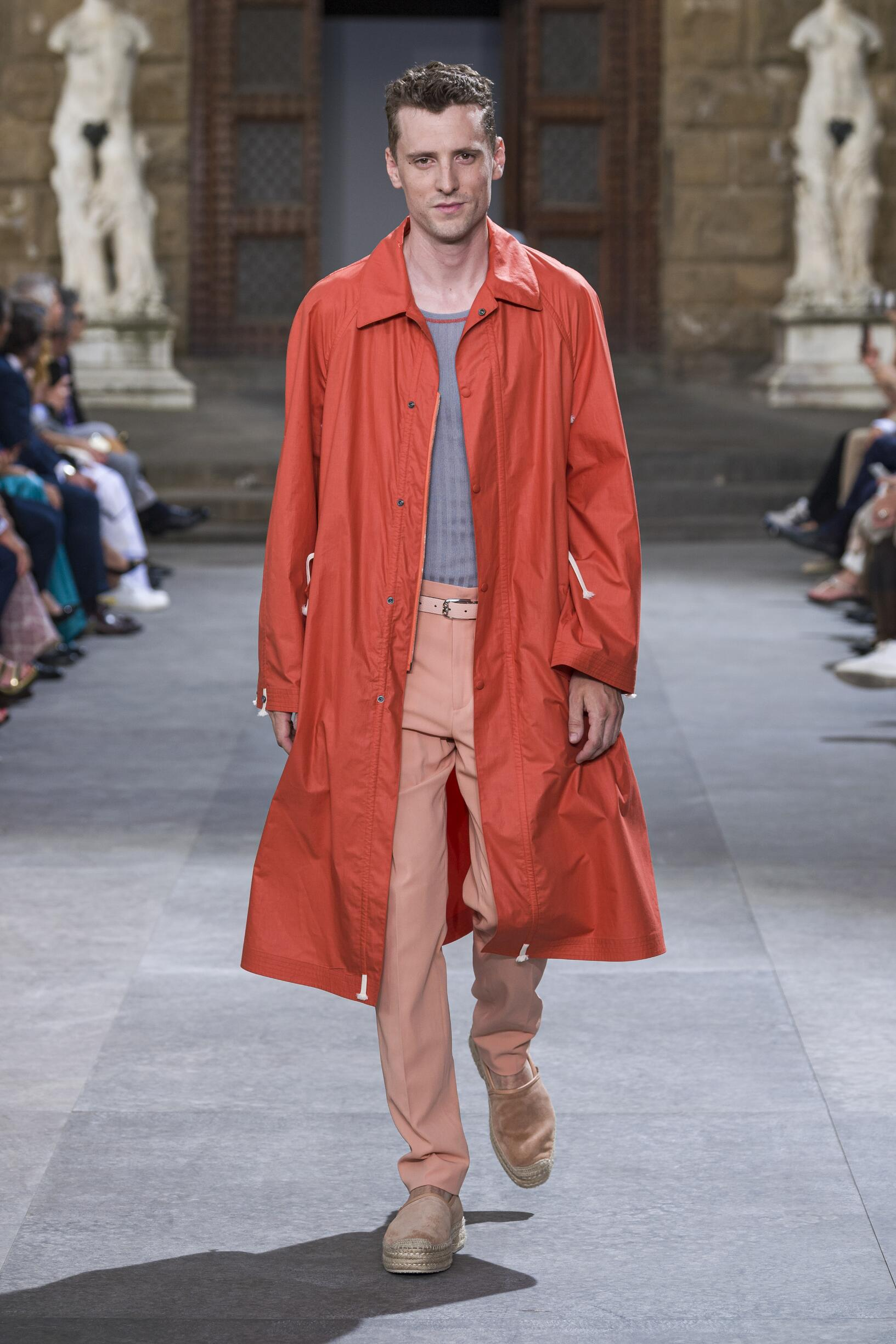 Fashion 2020 Runway Man Salvatore Ferragamo Summer