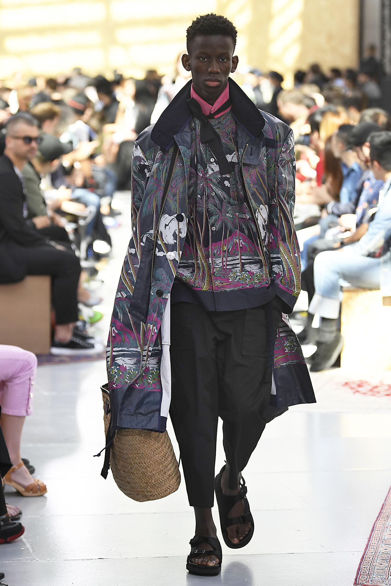 Fashion 2020 Runway Sacai Summer