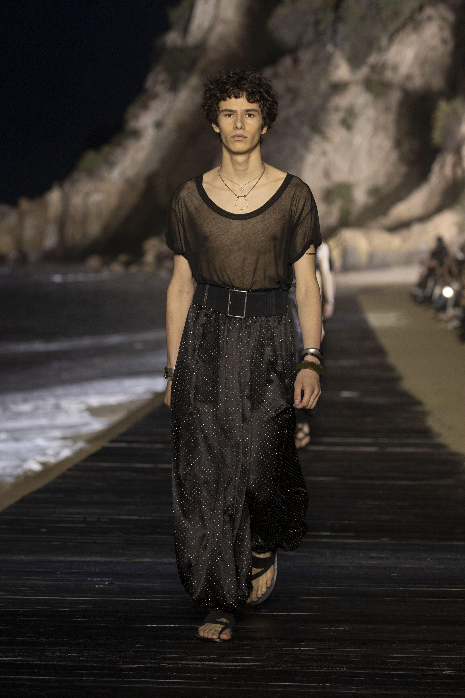 Fashion 2020 Runway Saint Laurent Summer Man
