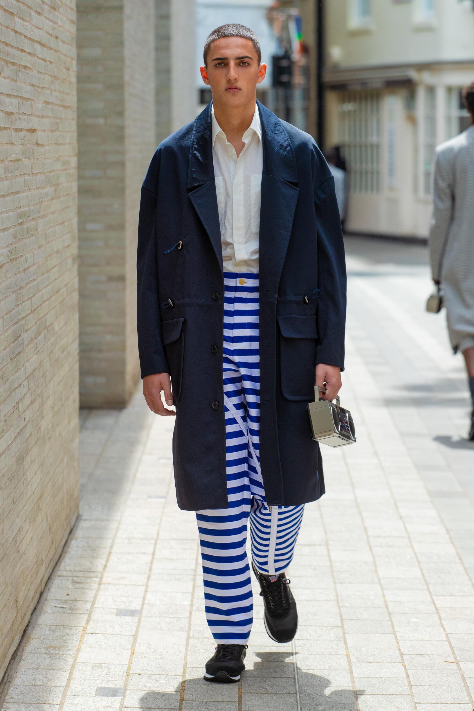 Fashion Model Chalayan Catwalk