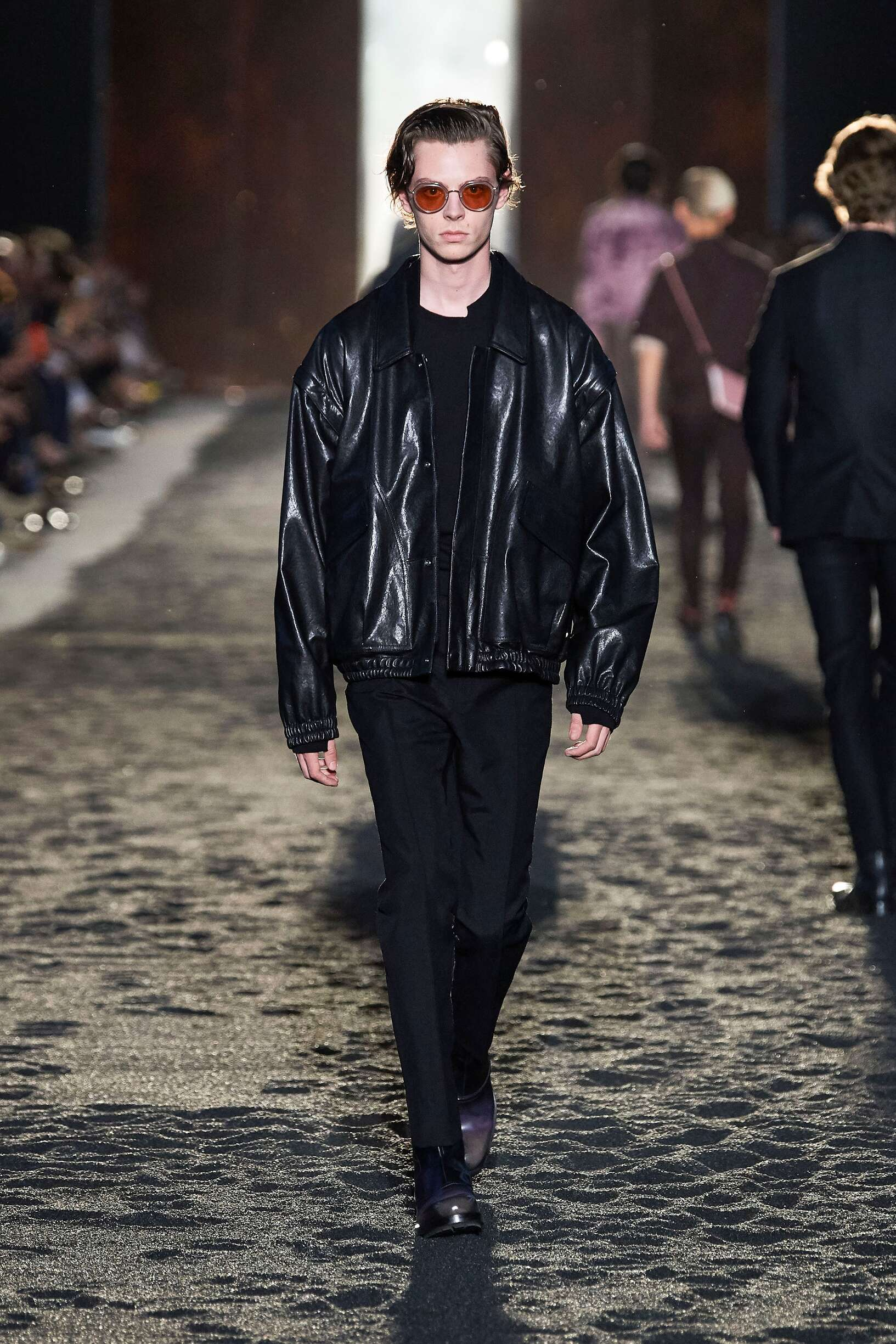 Fashion Model Ermenegildo Zegna XXX Catwalk