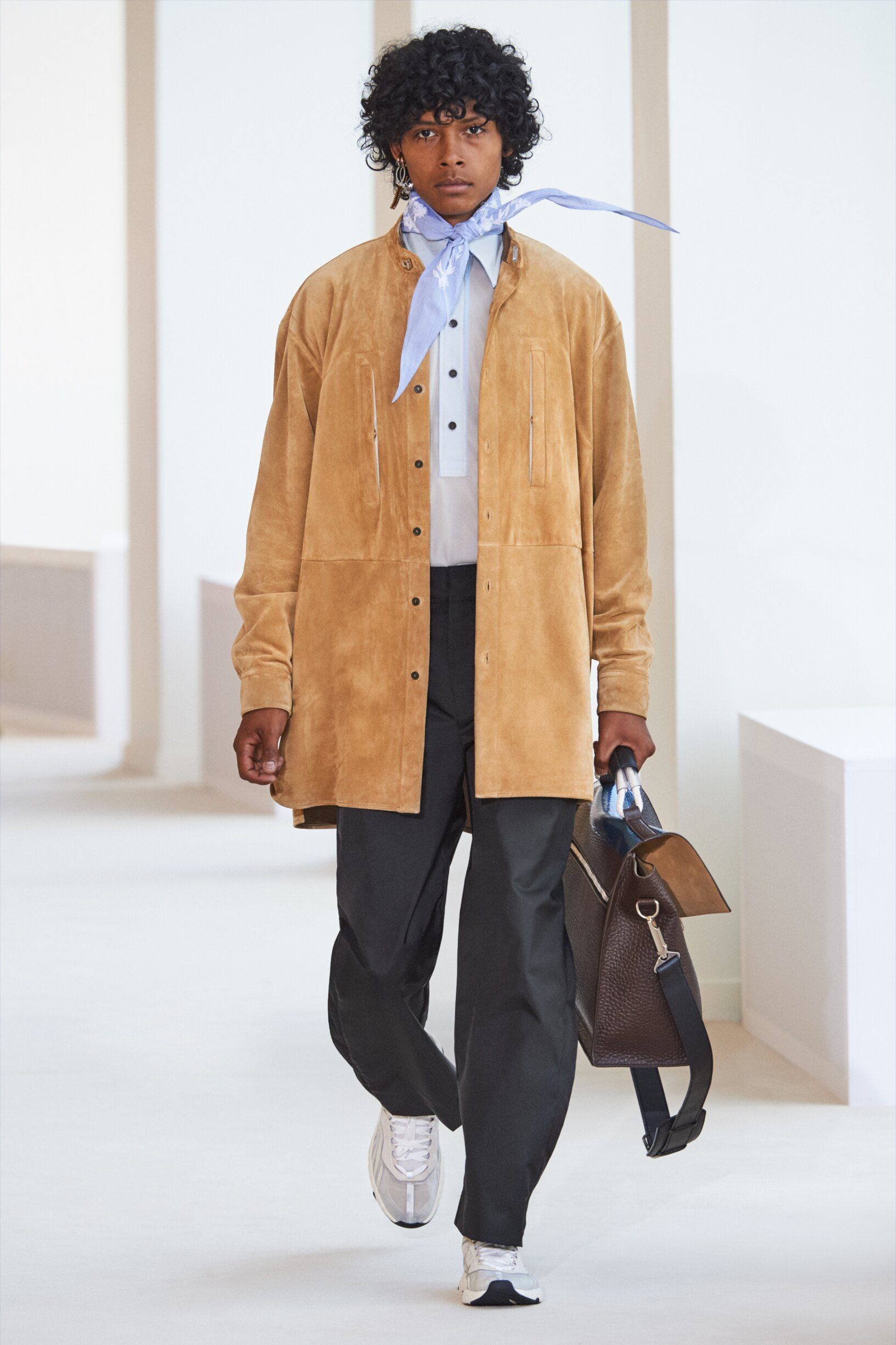 Fashion Model Man Acne Studios Catwalk