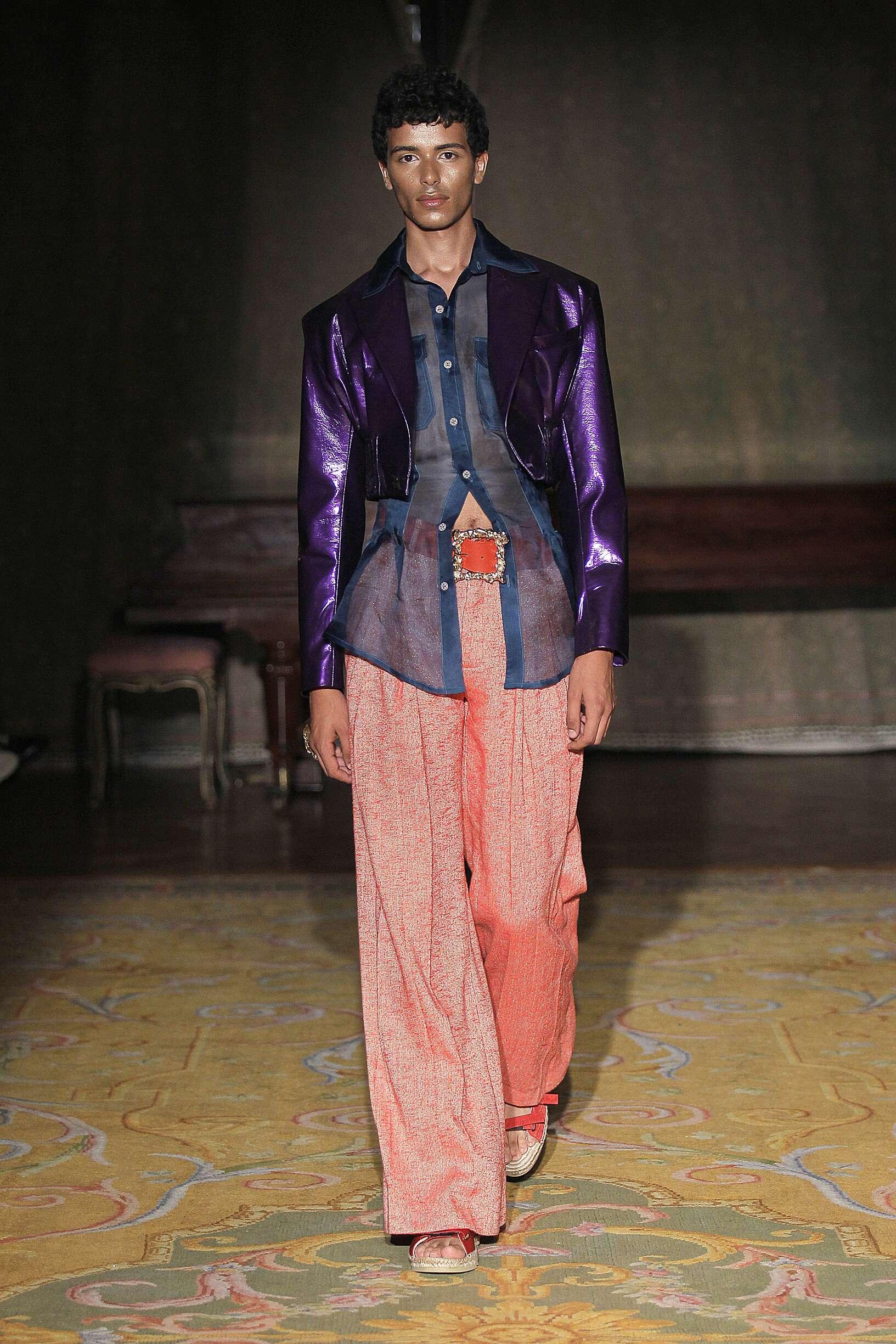 Fashion Model Man Palomo Spain Catwalk