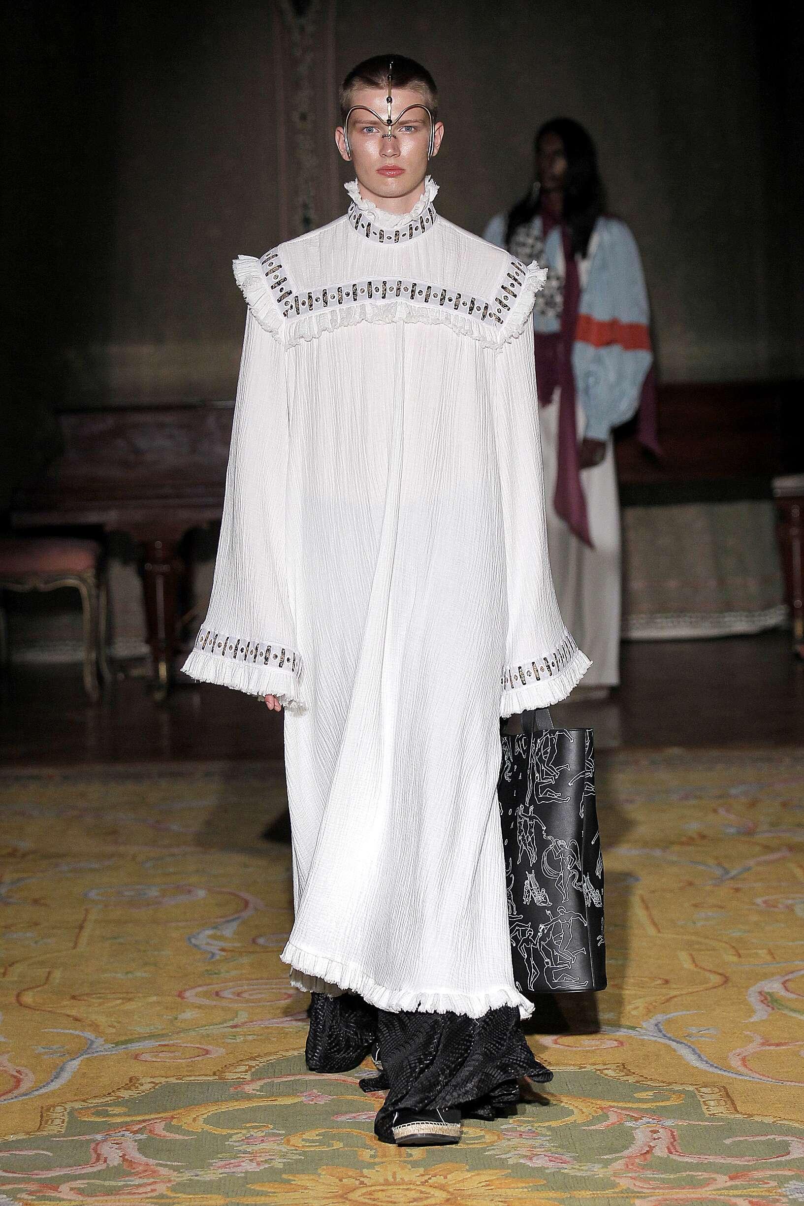 Fashion Model Palomo Spain Catwalk