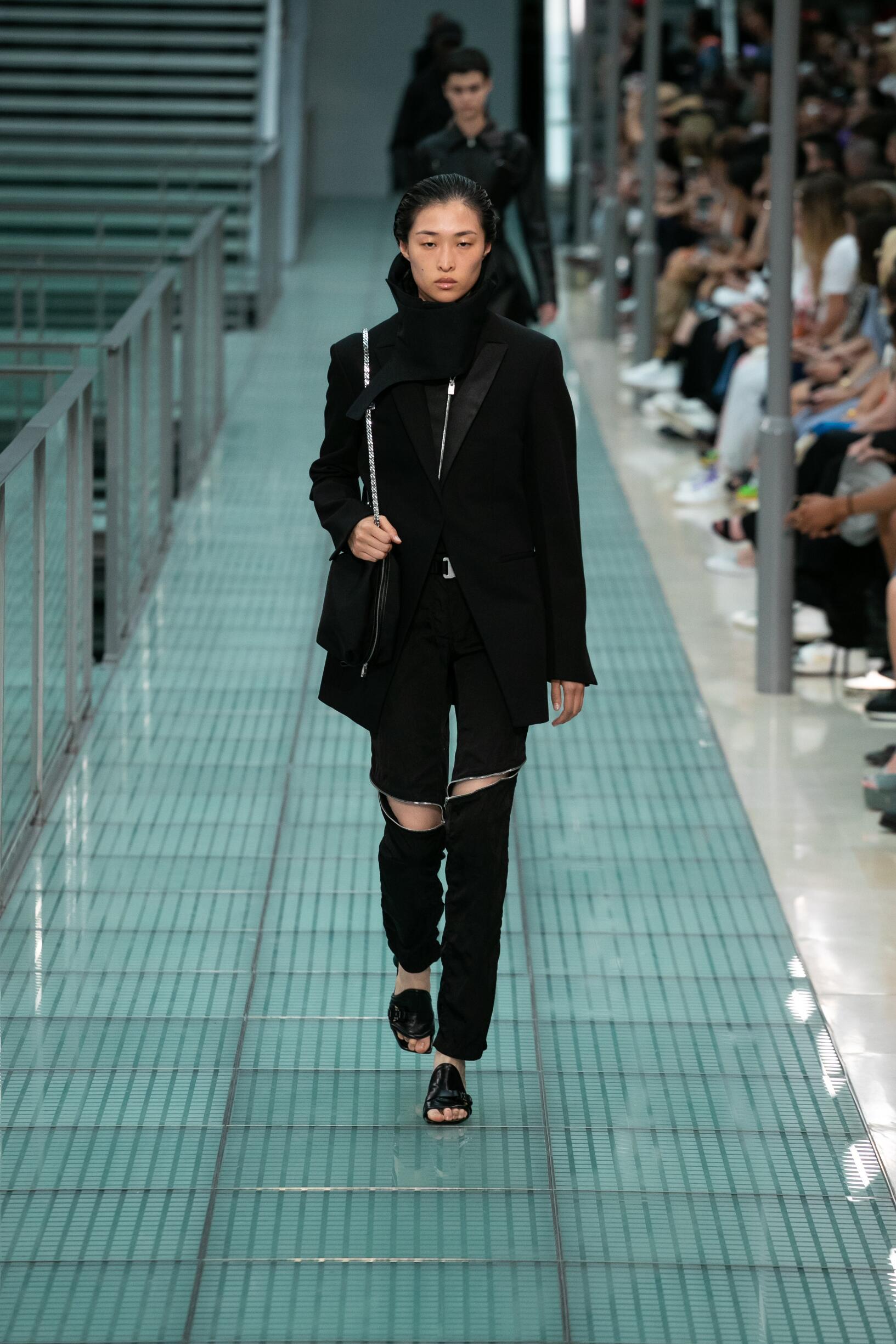 Fashion Model Woman Alyx Catwalk
