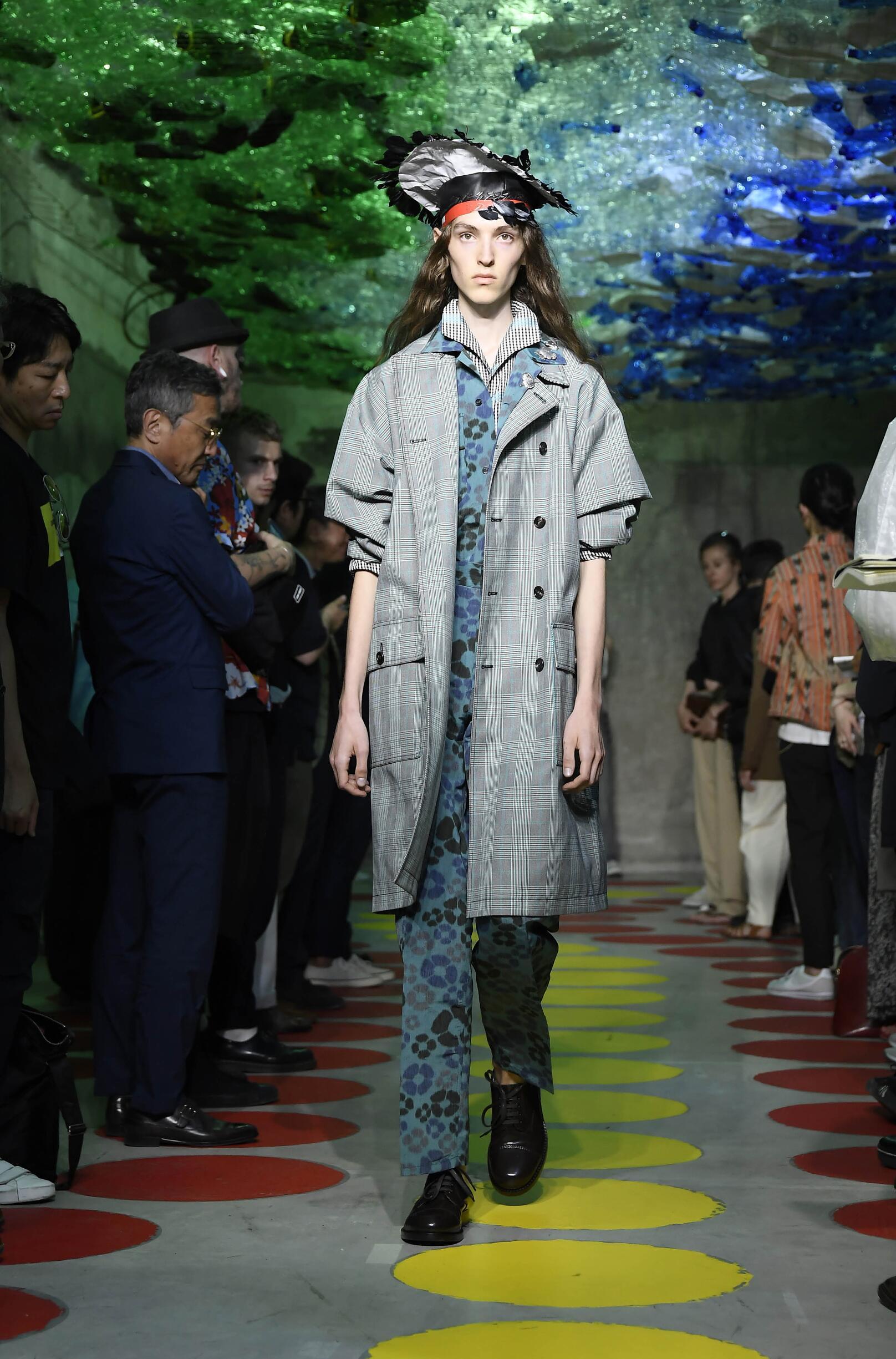 Fashion Model Woman Marni Catwalk