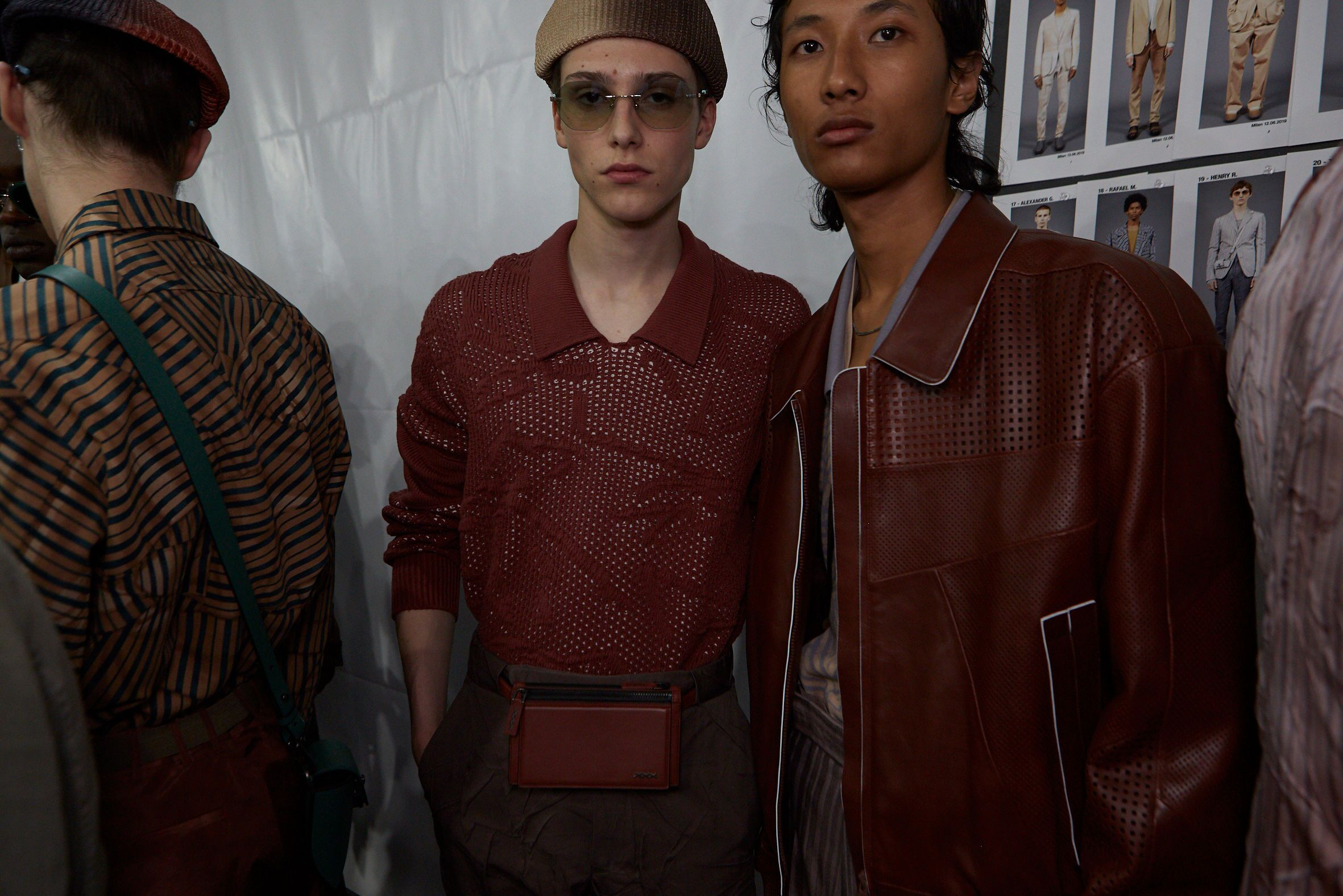 Fashion Models Backstage Ermenegildo Zegna XXX Spring Summer 2020 Collection