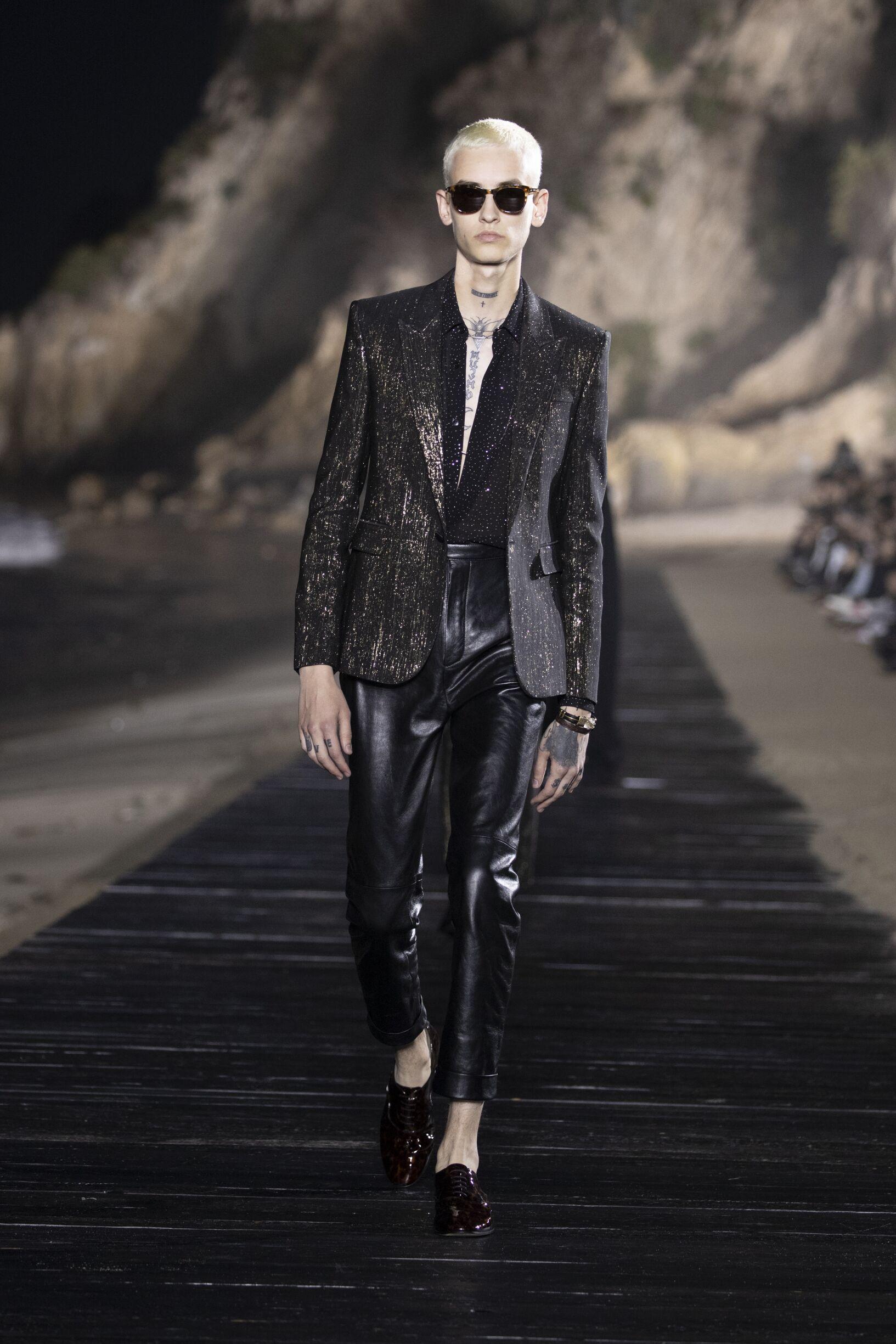 Fashion Show 2020 Catwalk Saint Laurent