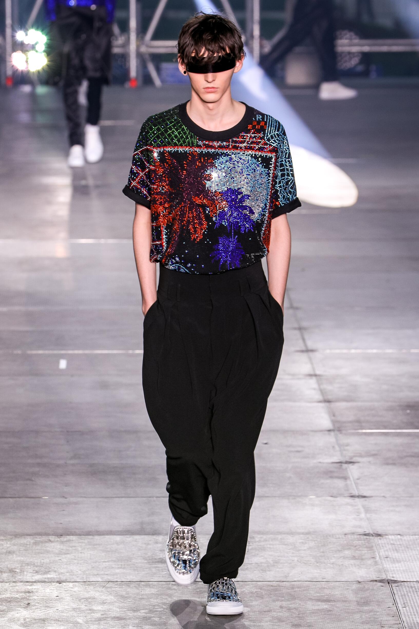Fashion Trends 2020 Catwalk Balmain Summer Mens Collection