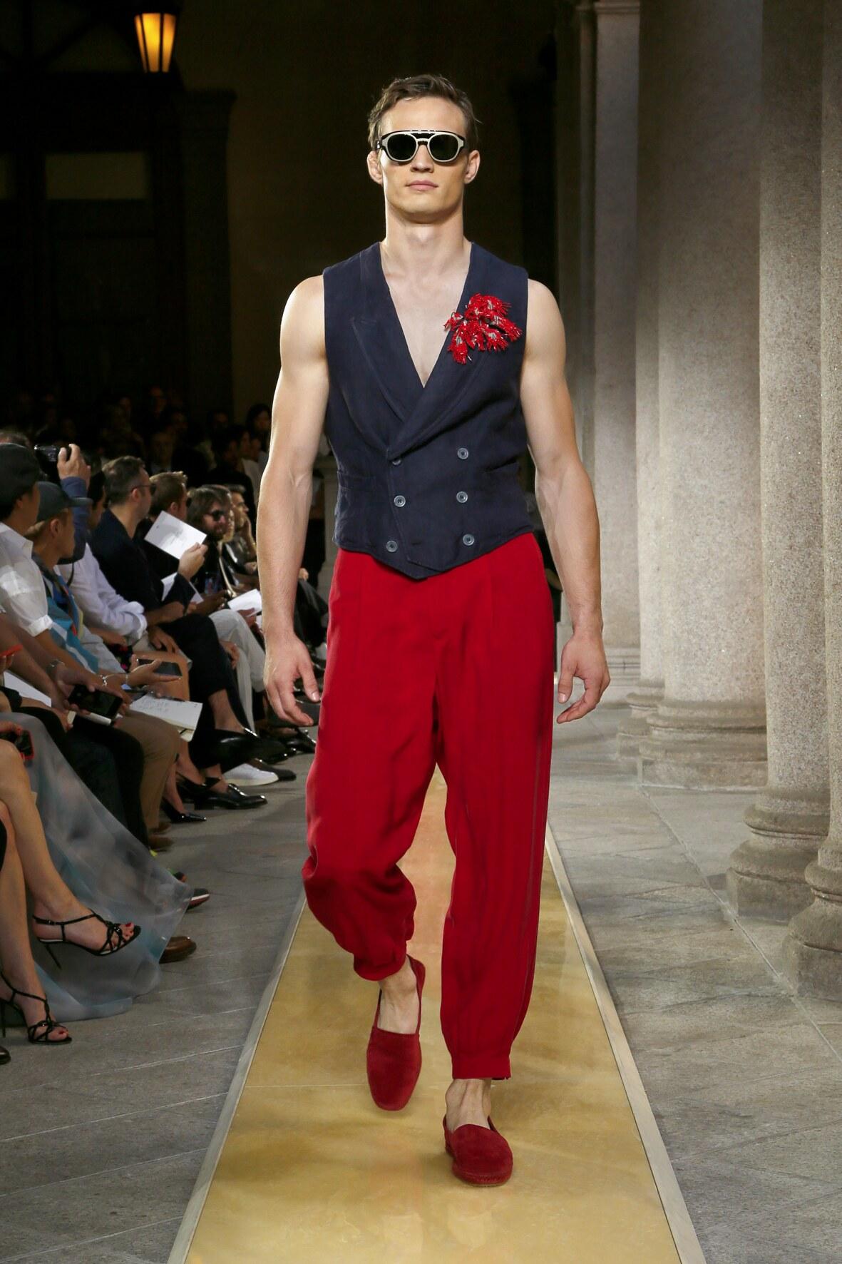 Fashion Trends 2020 Catwalk Giorgio Armani Summer Men's Collection