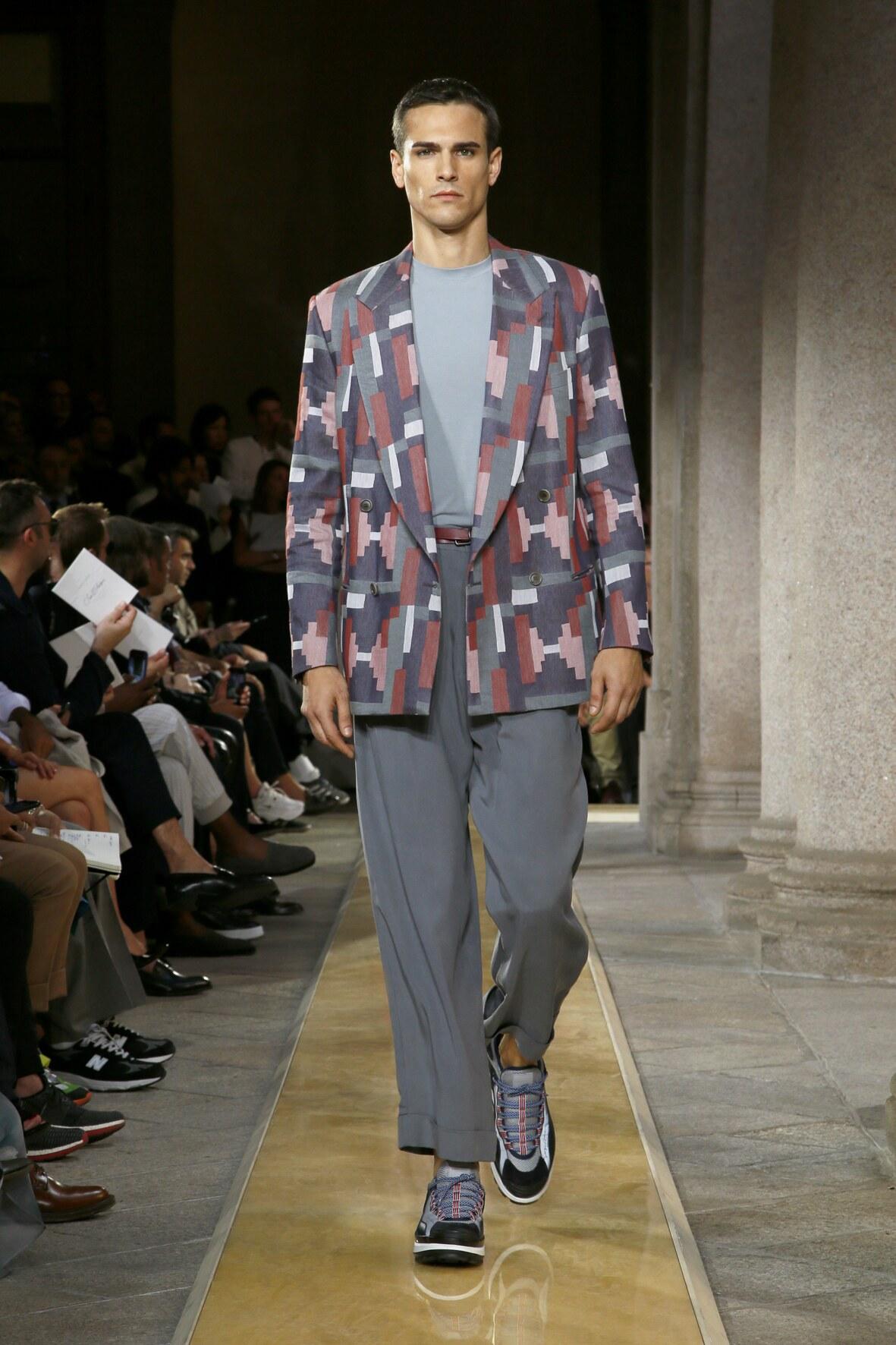 Fashion Trends 2020 Catwalk Giorgio Armani Summer Mens Collection