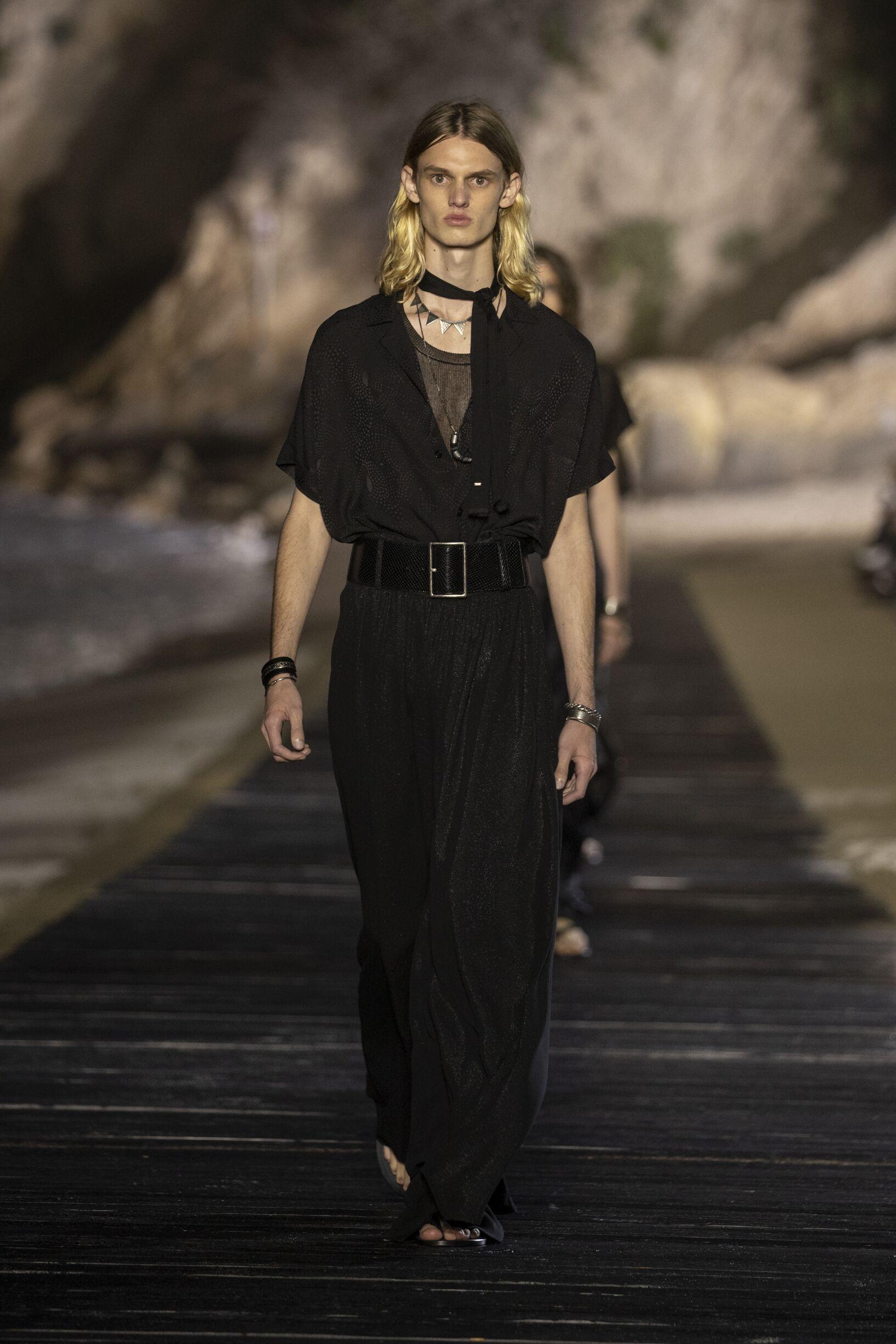 Fashion Trends 2020 Catwalk Saint Laurent Summer Mens Collection