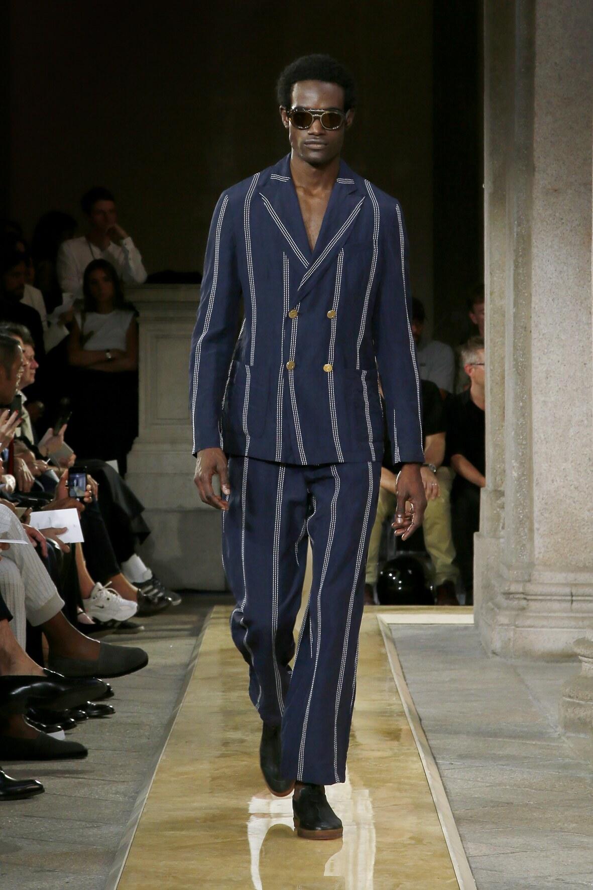Fashion Week 2020 Catwalk Giorgio Armani