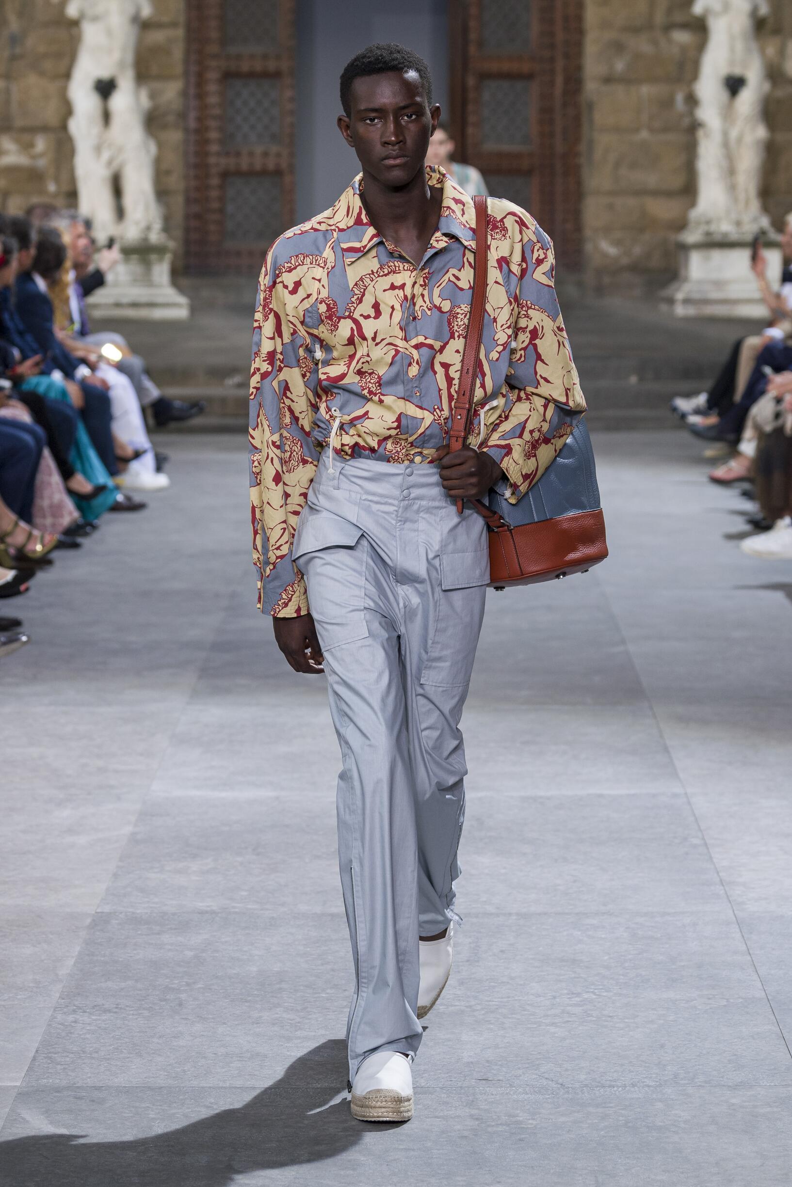 Fashion Week 2020 Catwalk Salvatore Ferragamo