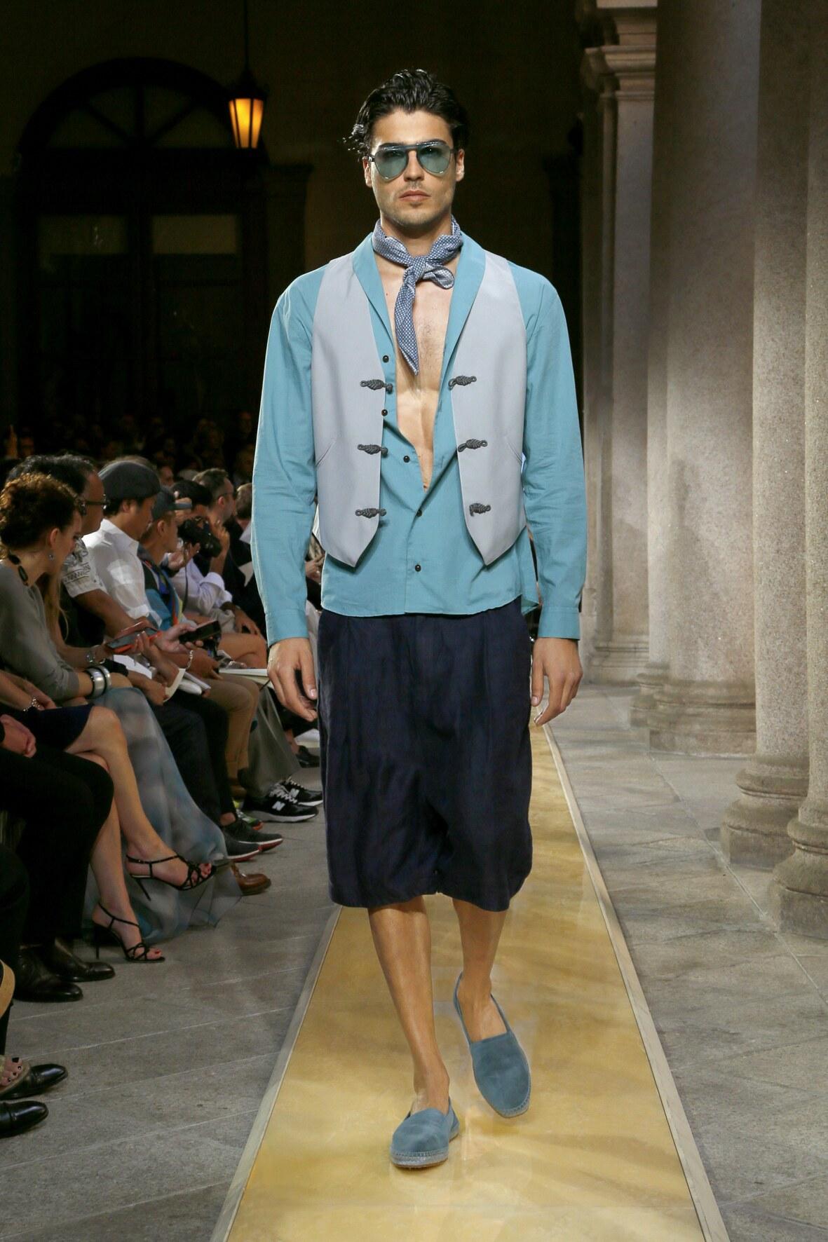 Giorgio Armani 2020 Milan Men Trends