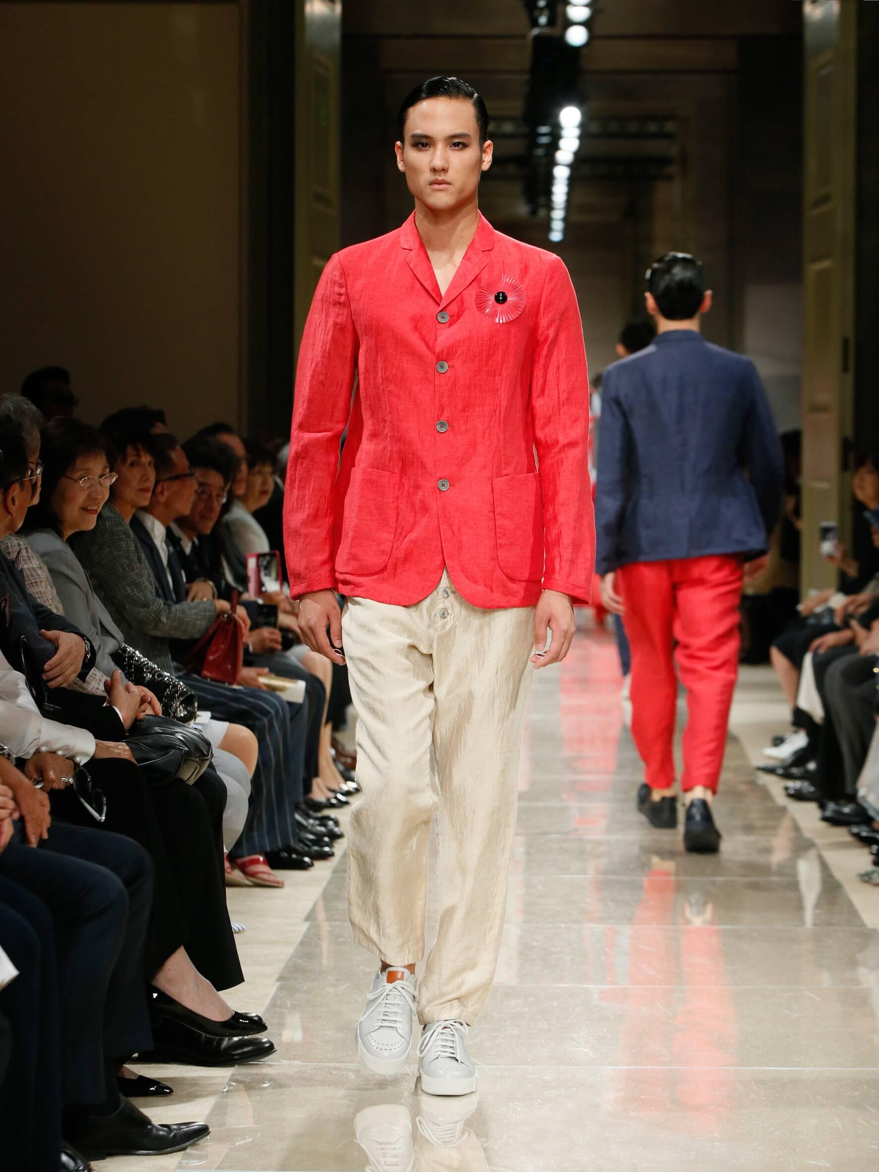 Giorgio Armani Cruise 2020 Collection Look 103 Tokyo