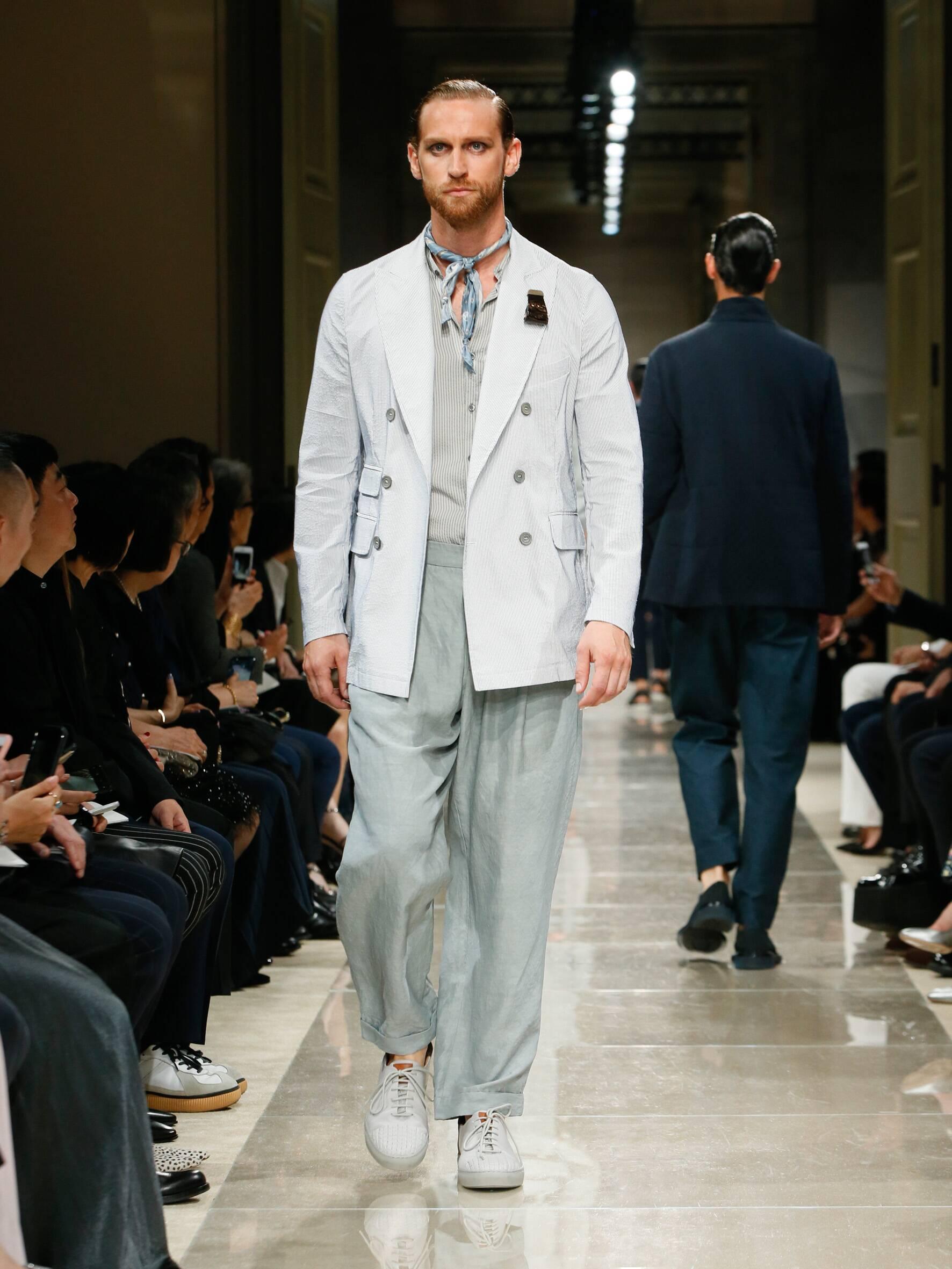 Giorgio Armani Cruise 2020 Collection Look 79 Tokyo