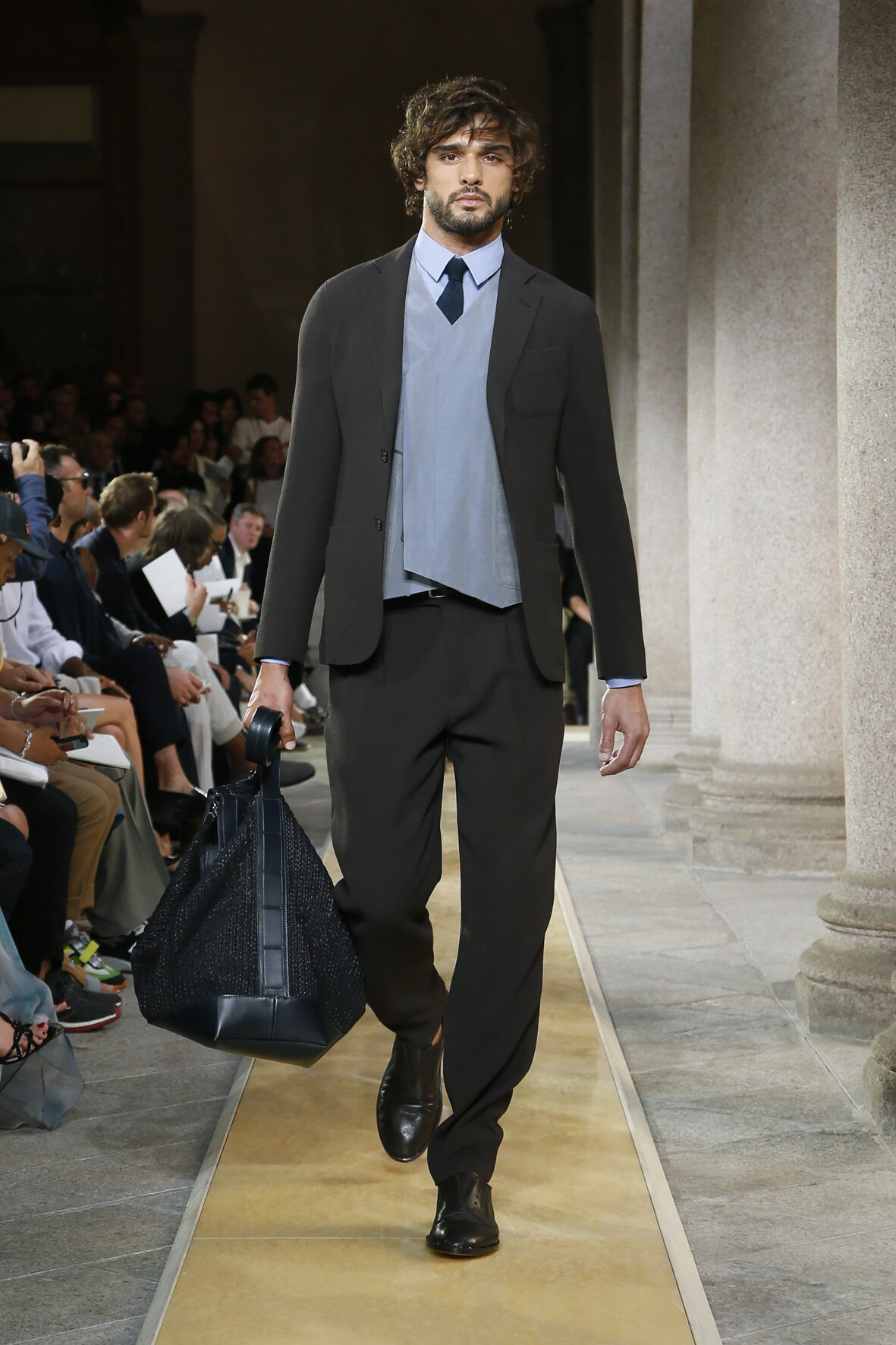 Giorgio Armani Fashion Show SS 2020