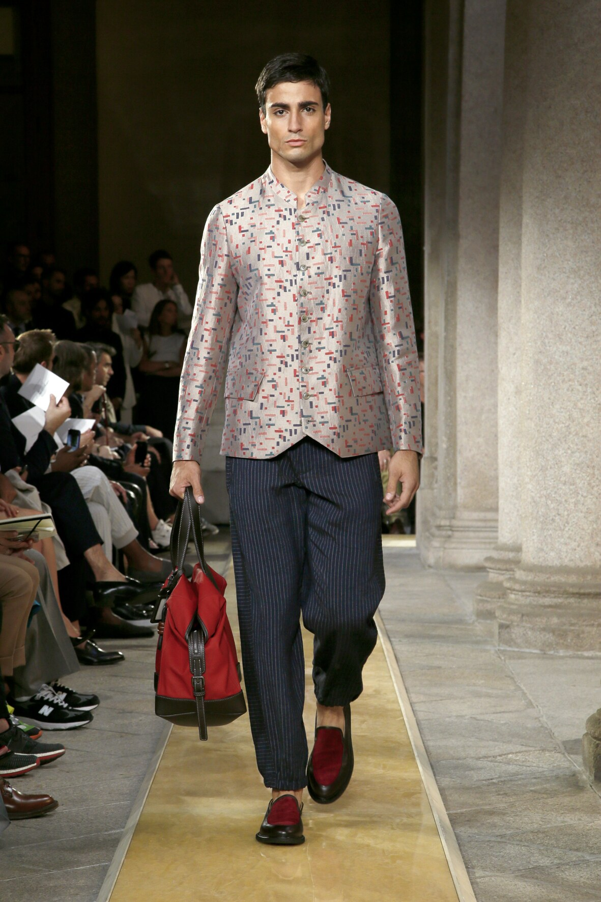 Giorgio Armani Man 2020 Milan Trends