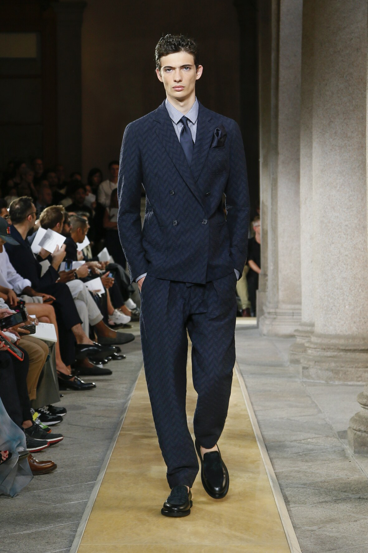 Giorgio Armani Man Style