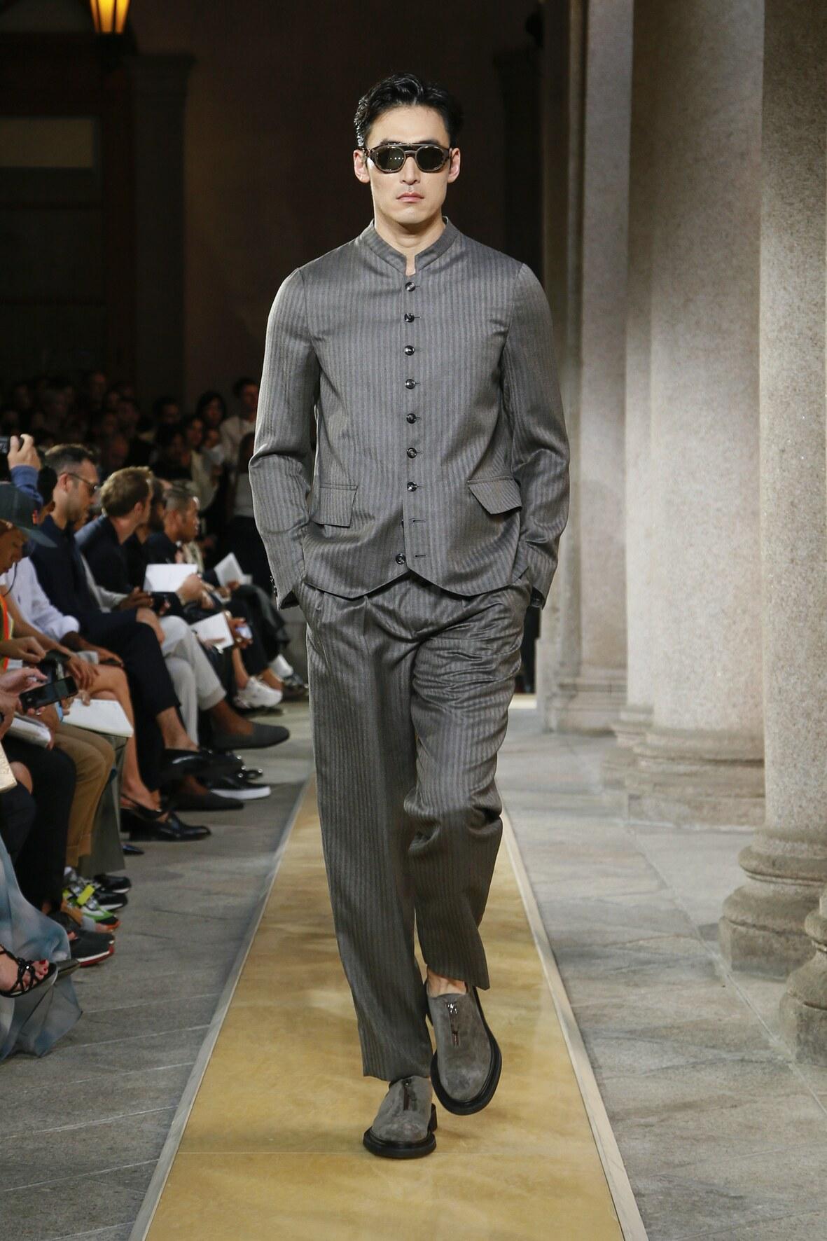 Giorgio Armani Men's Collection 2020