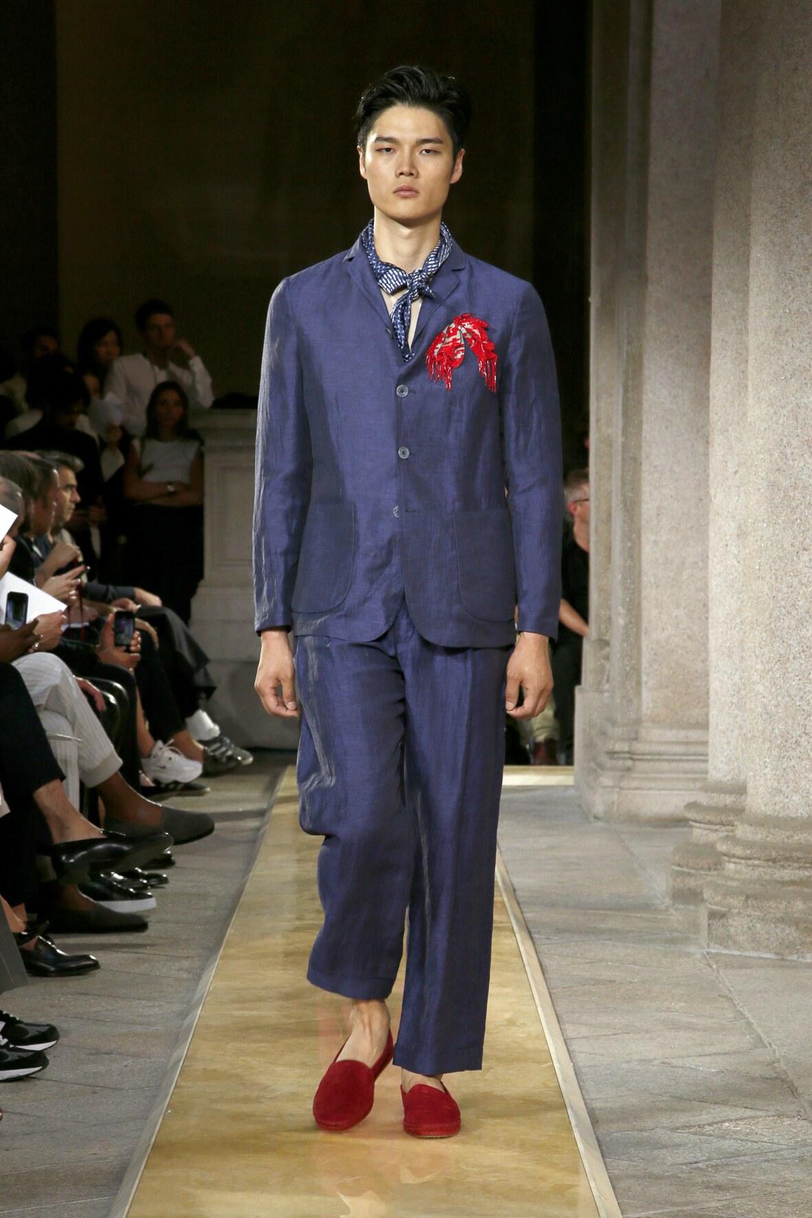 Giorgio Armani Menswear Collection Style