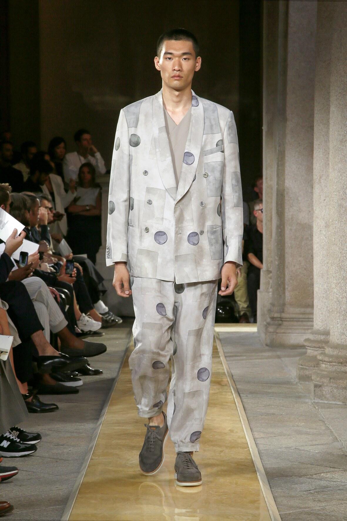 Giorgio Armani Menswear Collection Trends Summer