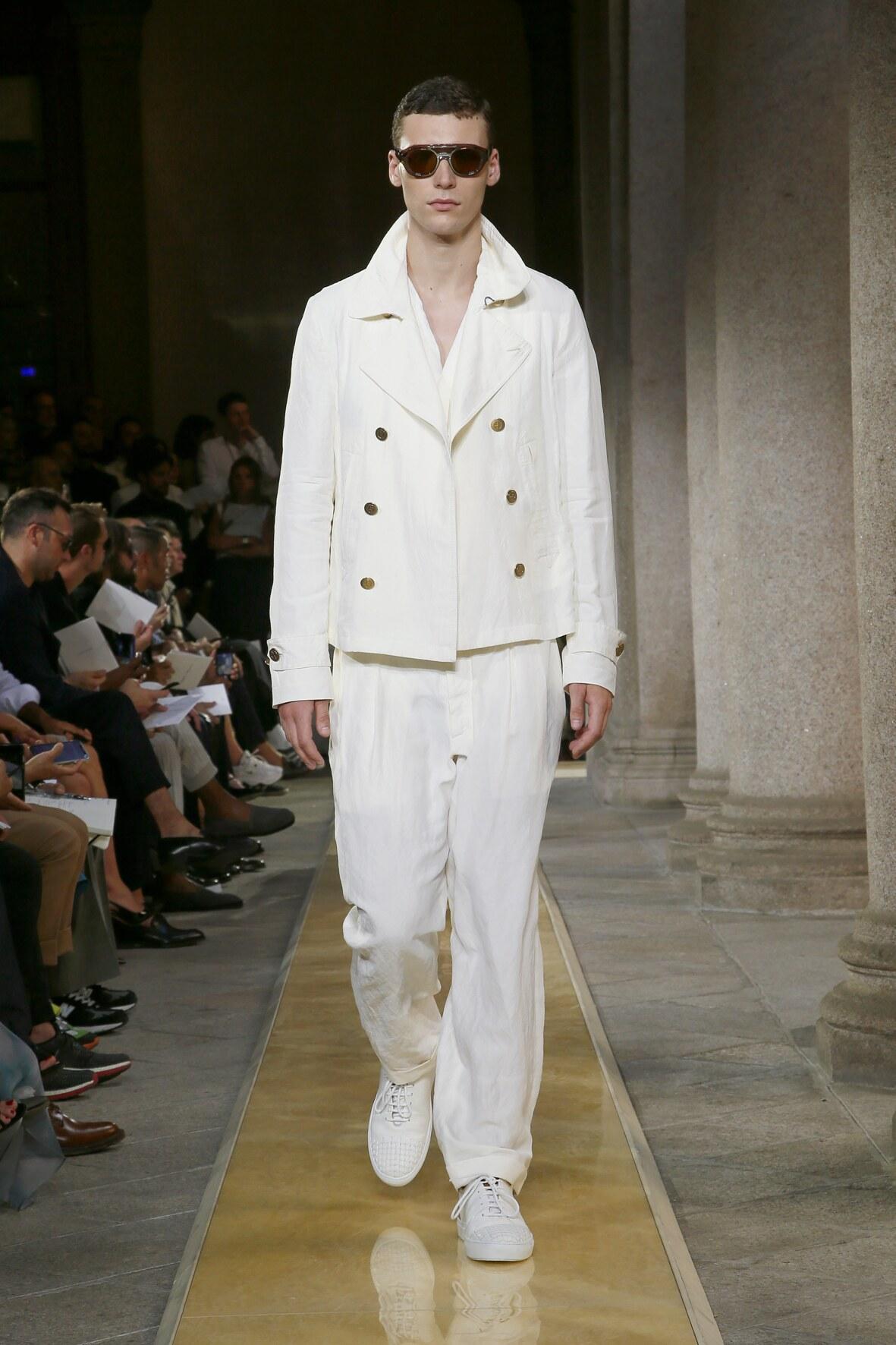 Giorgio Armani Menswear Collection Trends