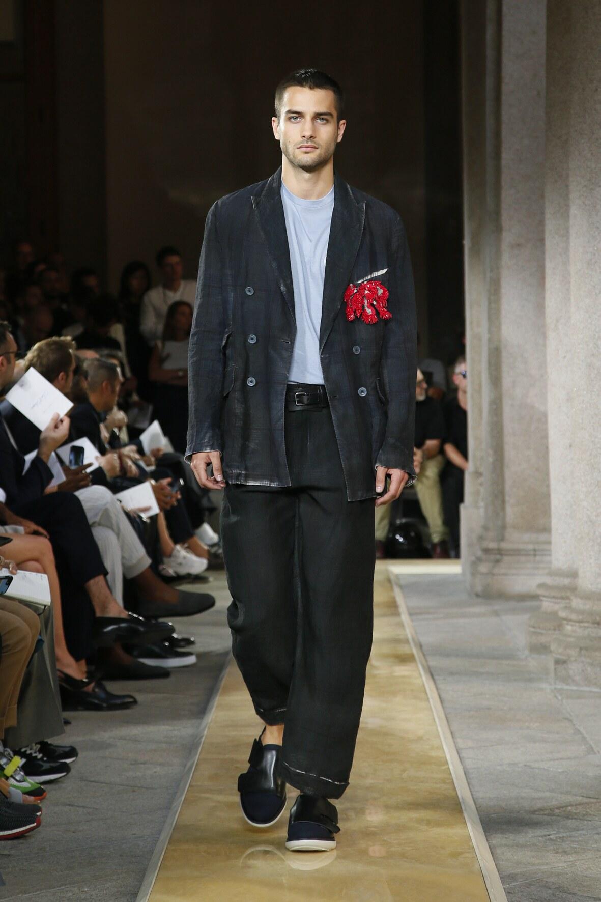 Giorgio Armani Milan Fashion Week Menswear