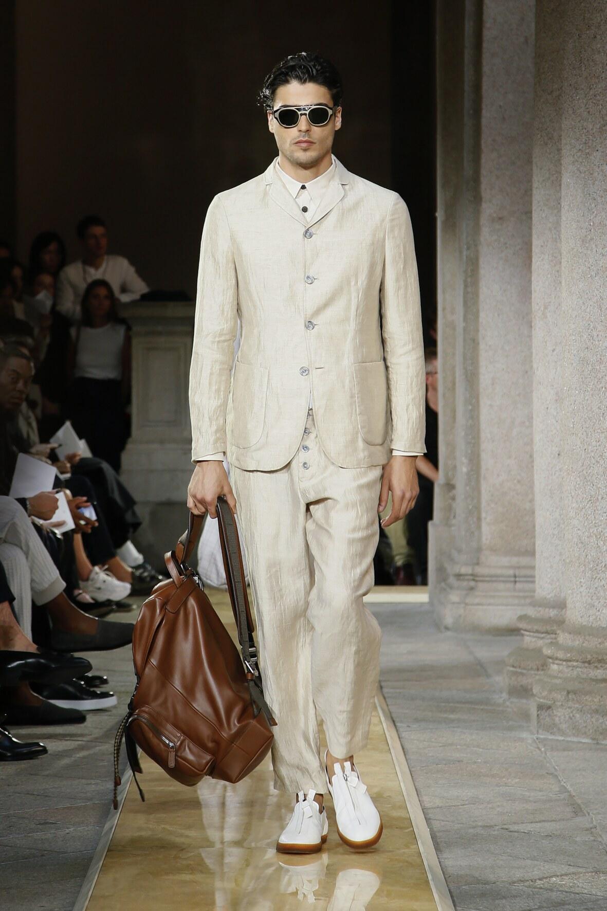 Giorgio Armani Milan Fashion Week