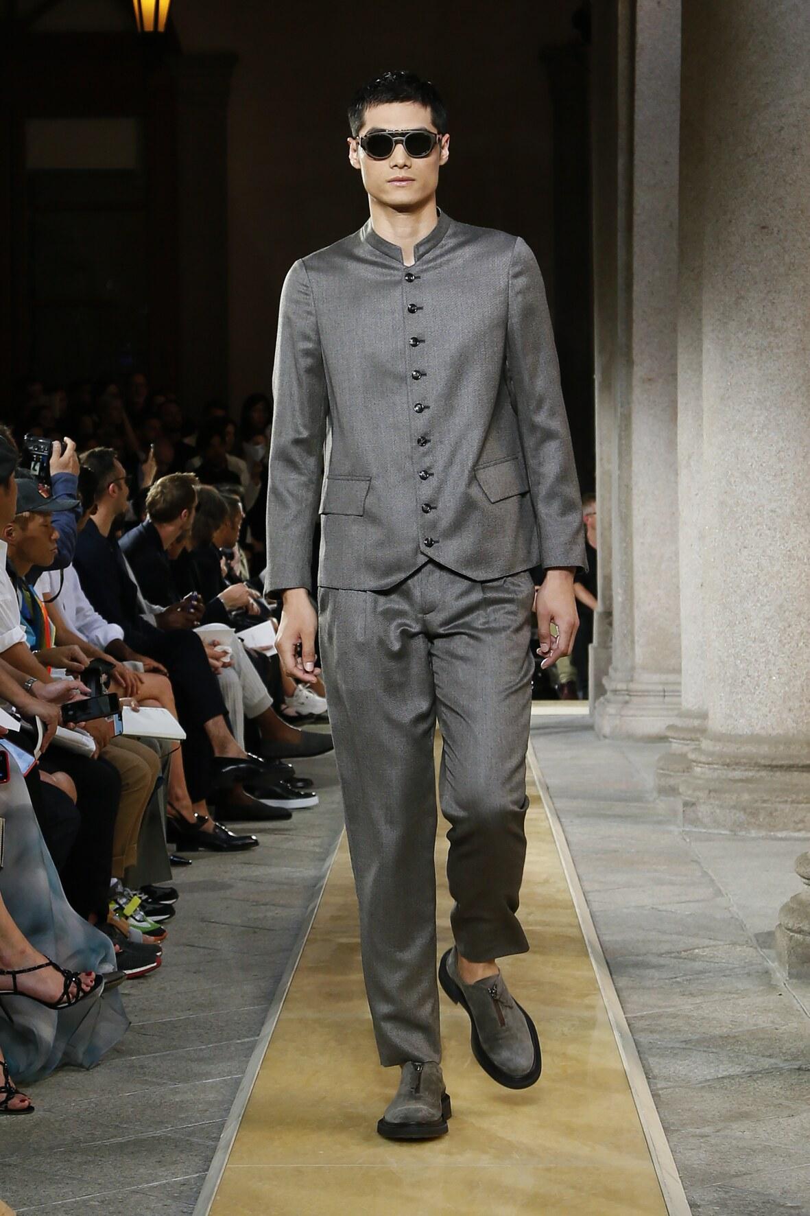 Giorgio Armani SS 2020 Menswear