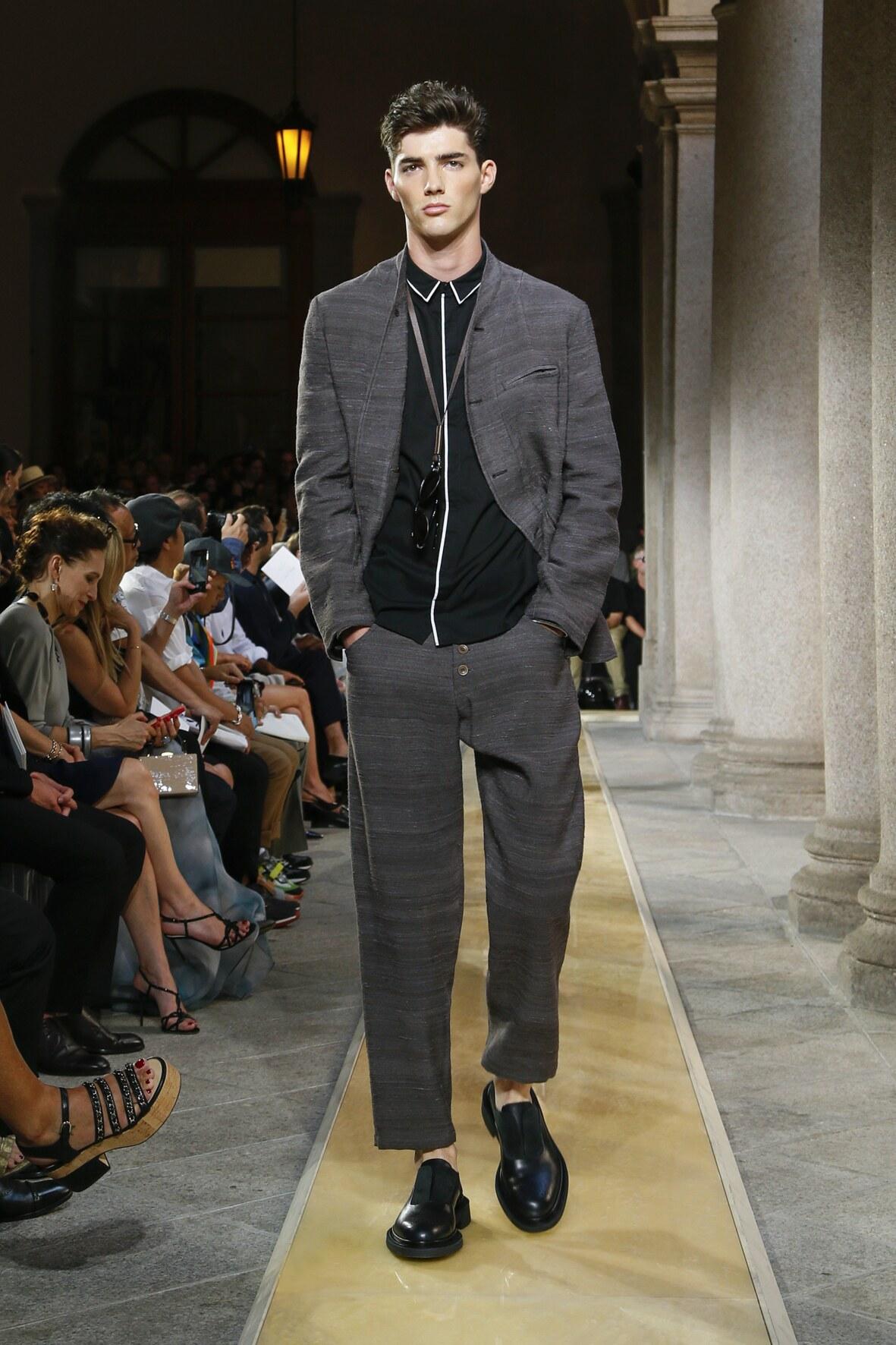 Giorgio Armani Spring Summer 2020 Collection Milan Fashion Week
