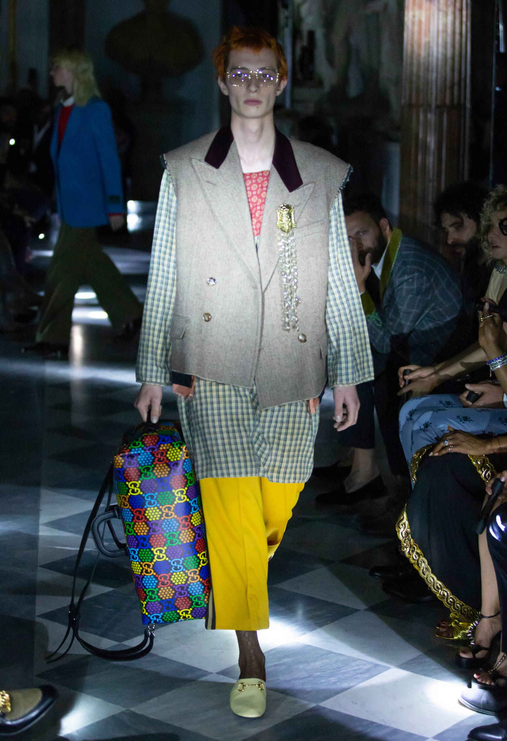 Gucci Cruise 2020 Collection Look 34 Rome